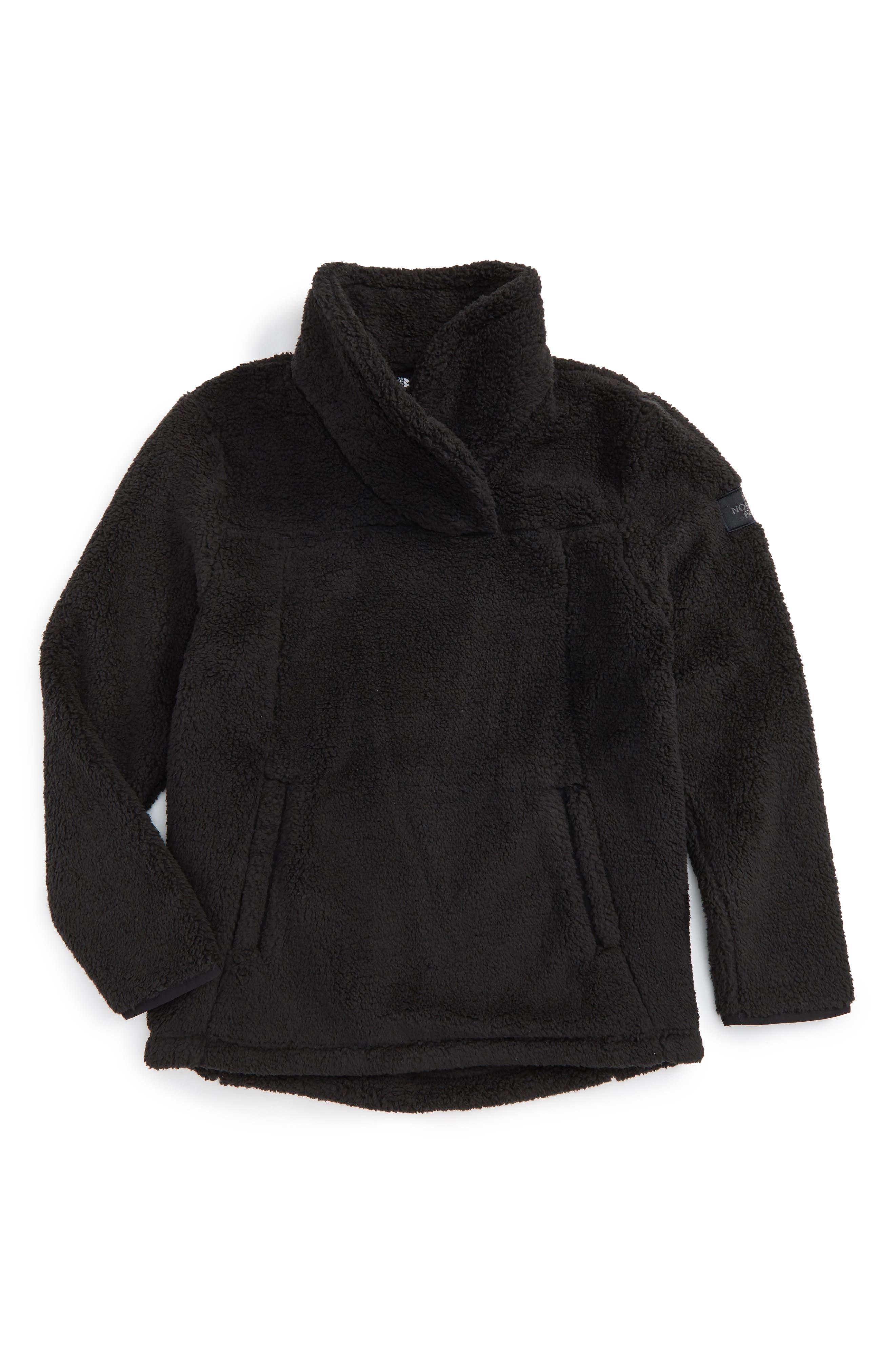 Khampfire Fleece Pullover,                             Main thumbnail 1, color,                             001