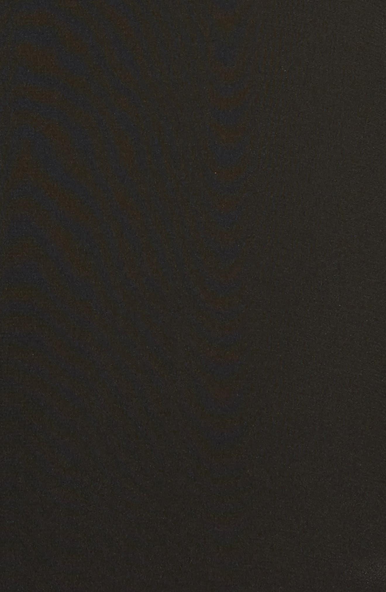 EILEEN FISHER,                             Silk Bomber Jacket,                             Alternate thumbnail 6, color,                             001