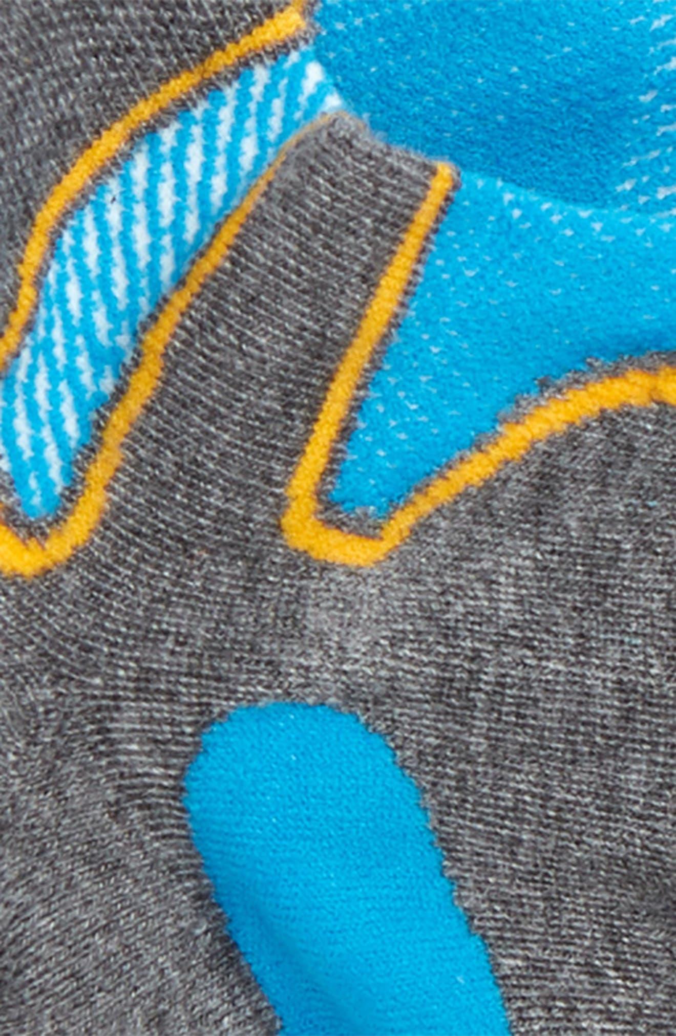 Silver Socks,                             Alternate thumbnail 2, color,                             499