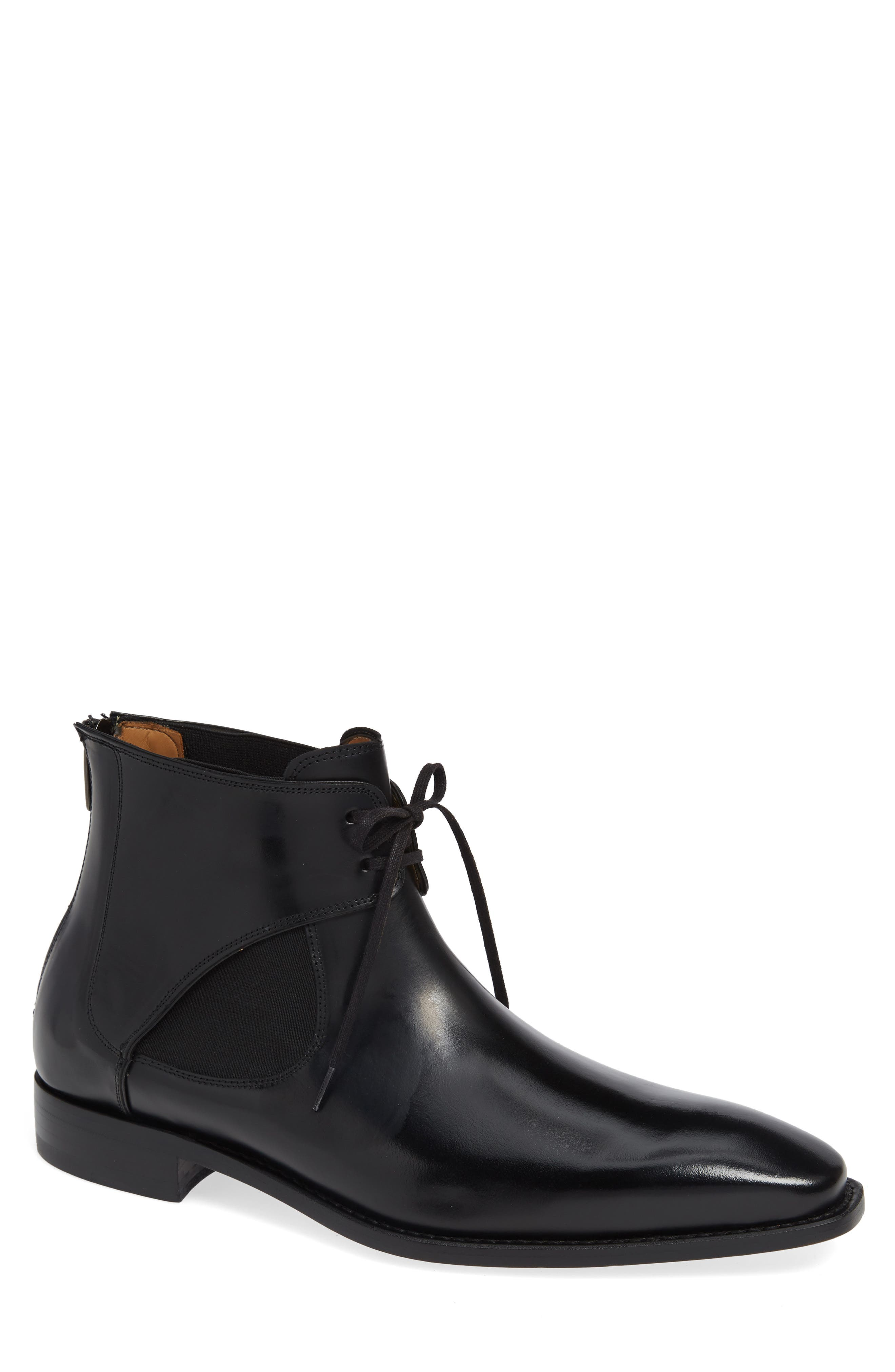 Mezlan Affleck Boot, Black