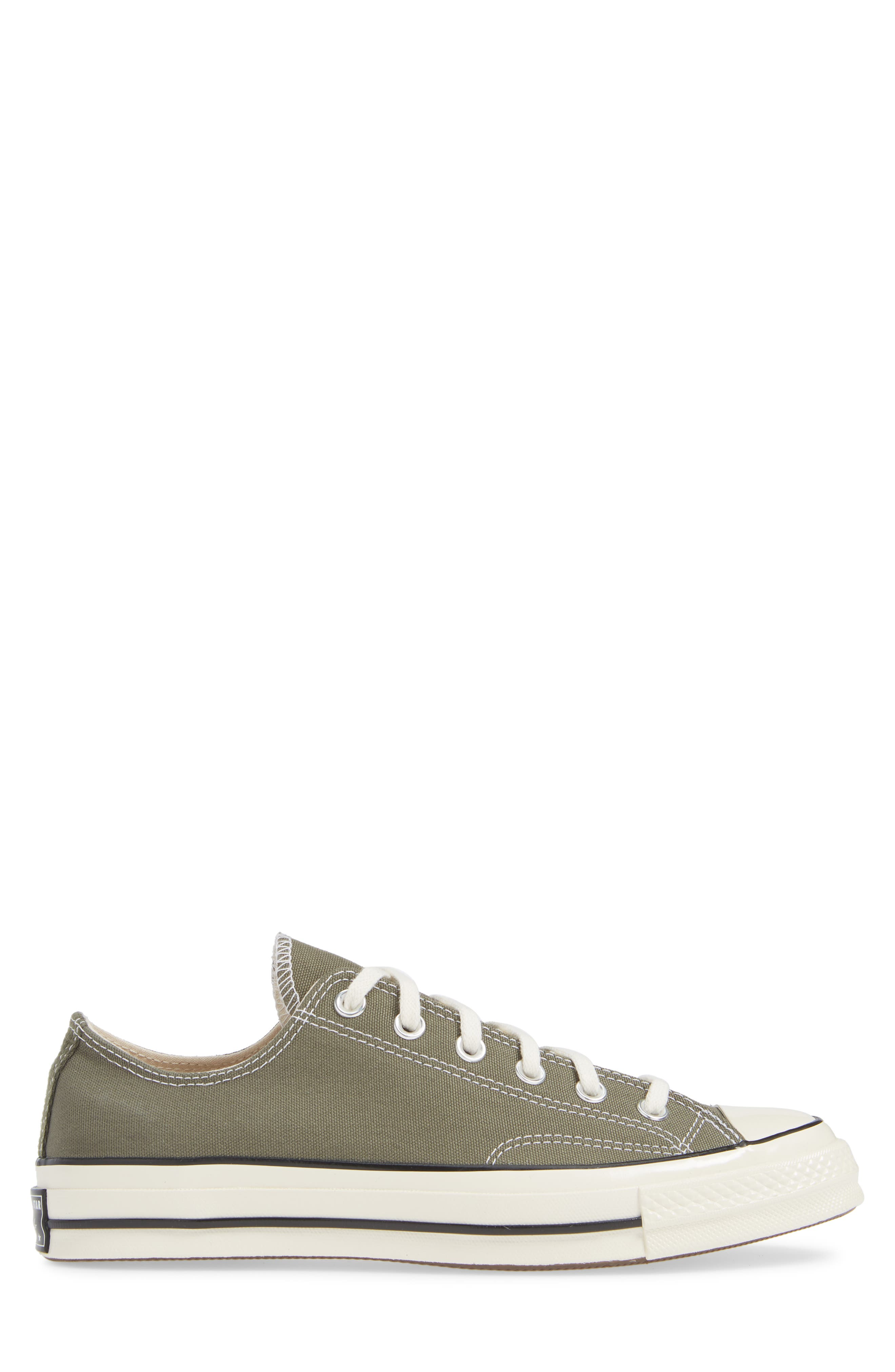 Chuck Taylor<sup>®</sup> All Star<sup>®</sup> '70 Low Sneaker,                             Alternate thumbnail 3, color,                             FIELD SURPLUS/ BLACK/ EGRET