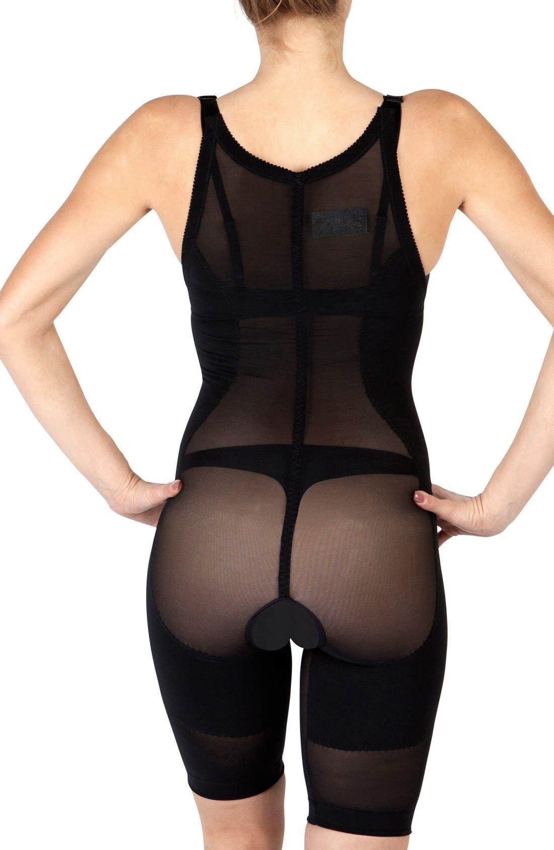 'Leilani' Body Shaping Garment,                             Alternate thumbnail 2, color,                             BLACK