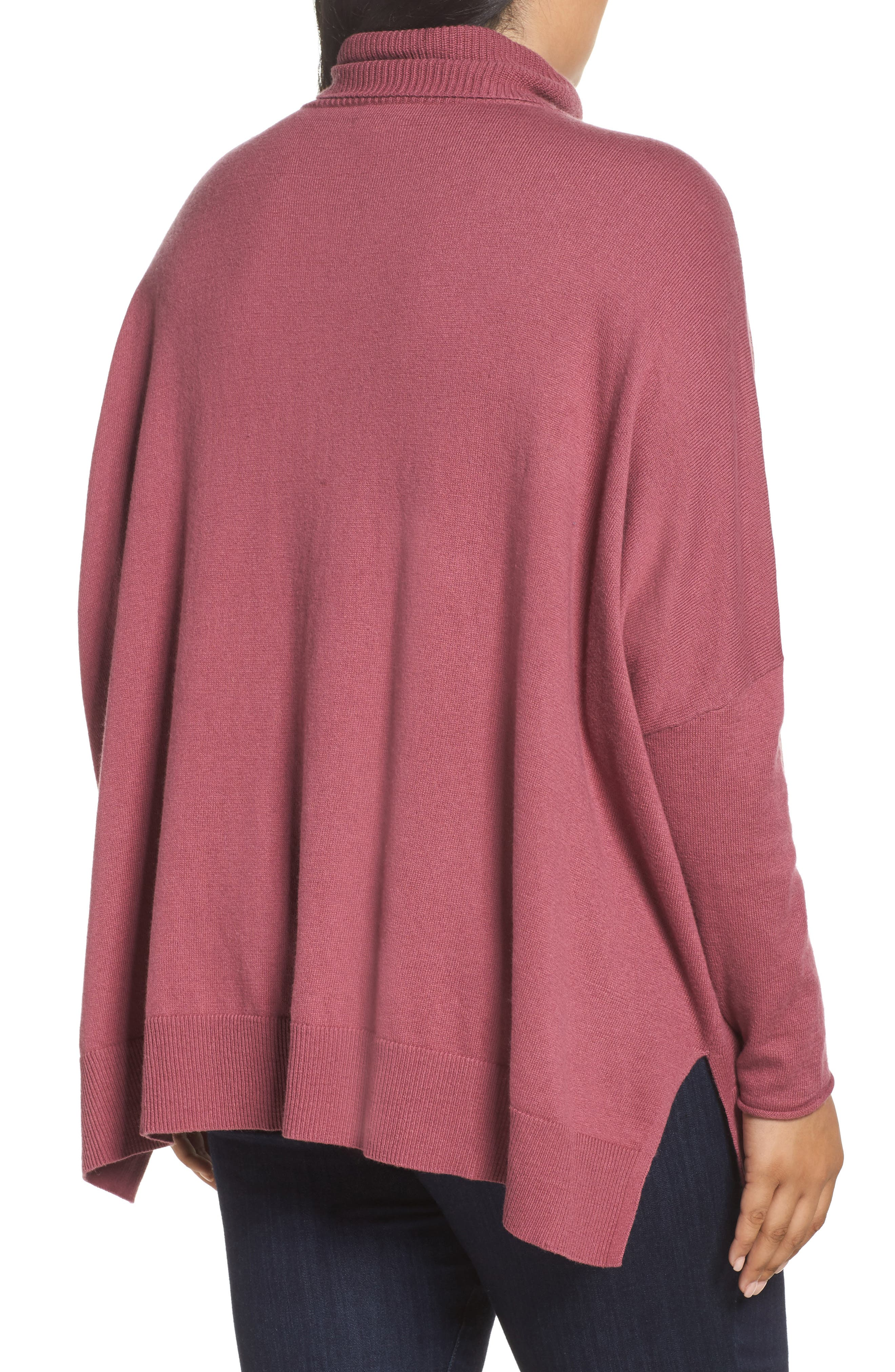 Relaxed Cotton & Cashmere Sweater,                             Alternate thumbnail 8, color,