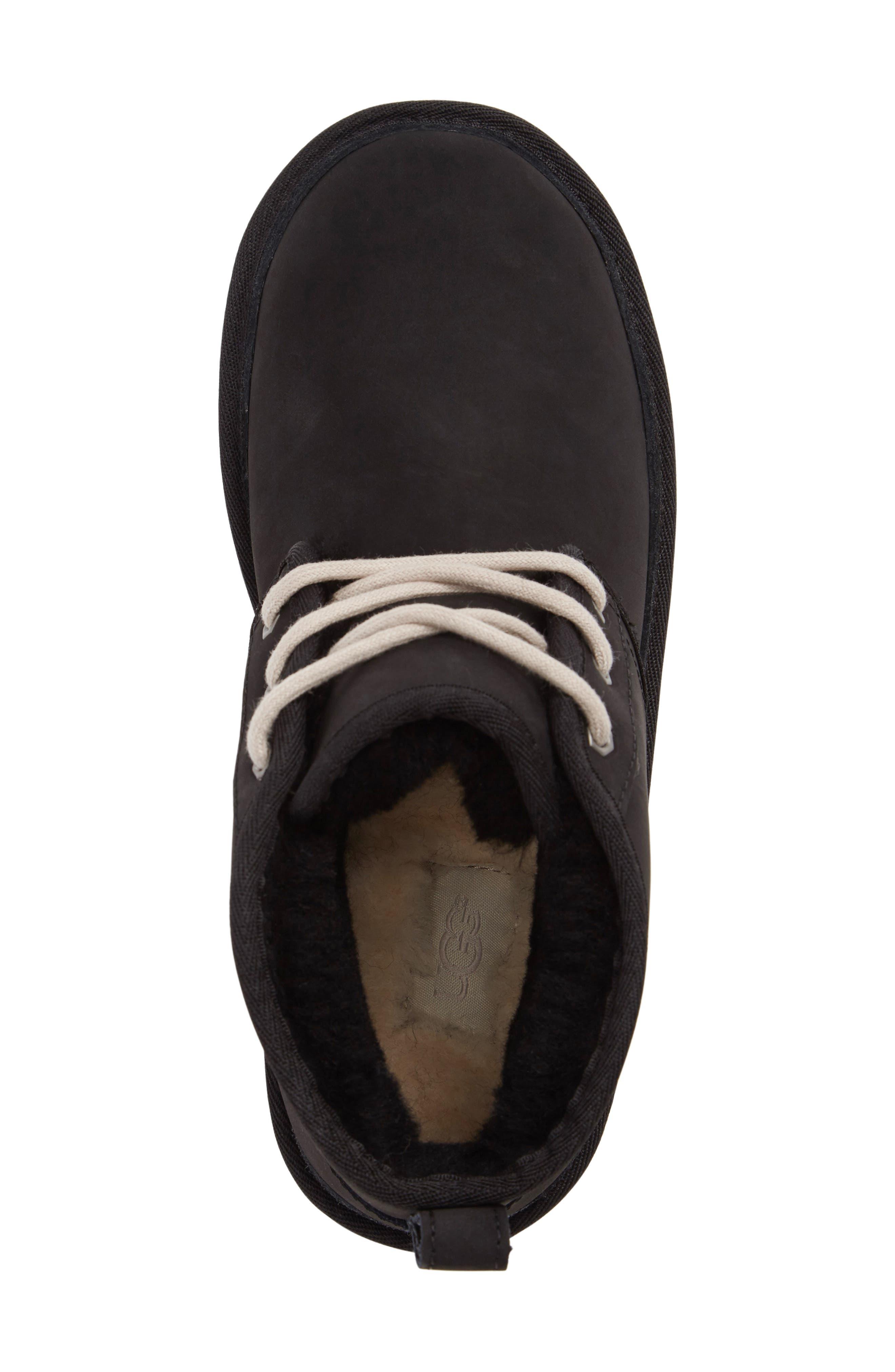 Neumel Genuine Shearling Boot,                             Alternate thumbnail 5, color,                             002