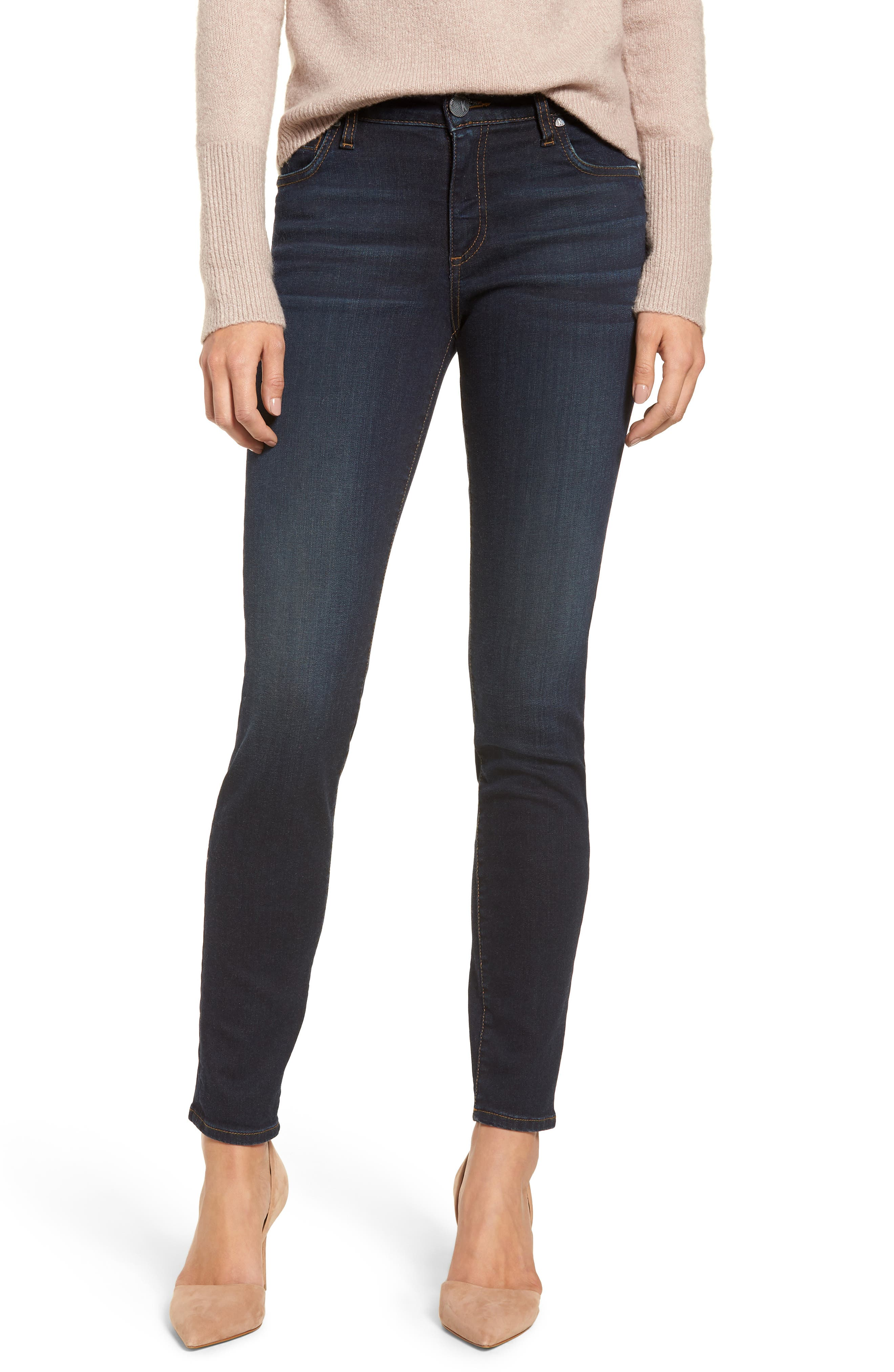 Diana Skinny Jeans,                             Main thumbnail 1, color,                             435