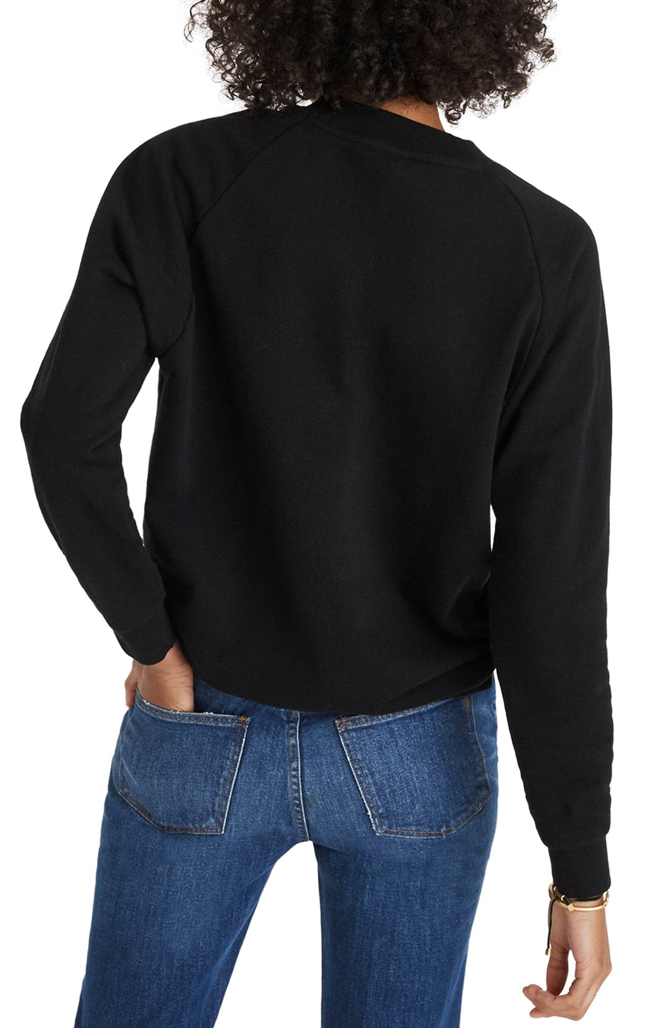 Rêveur Drawstring Sweatshirt,                             Alternate thumbnail 2, color,
