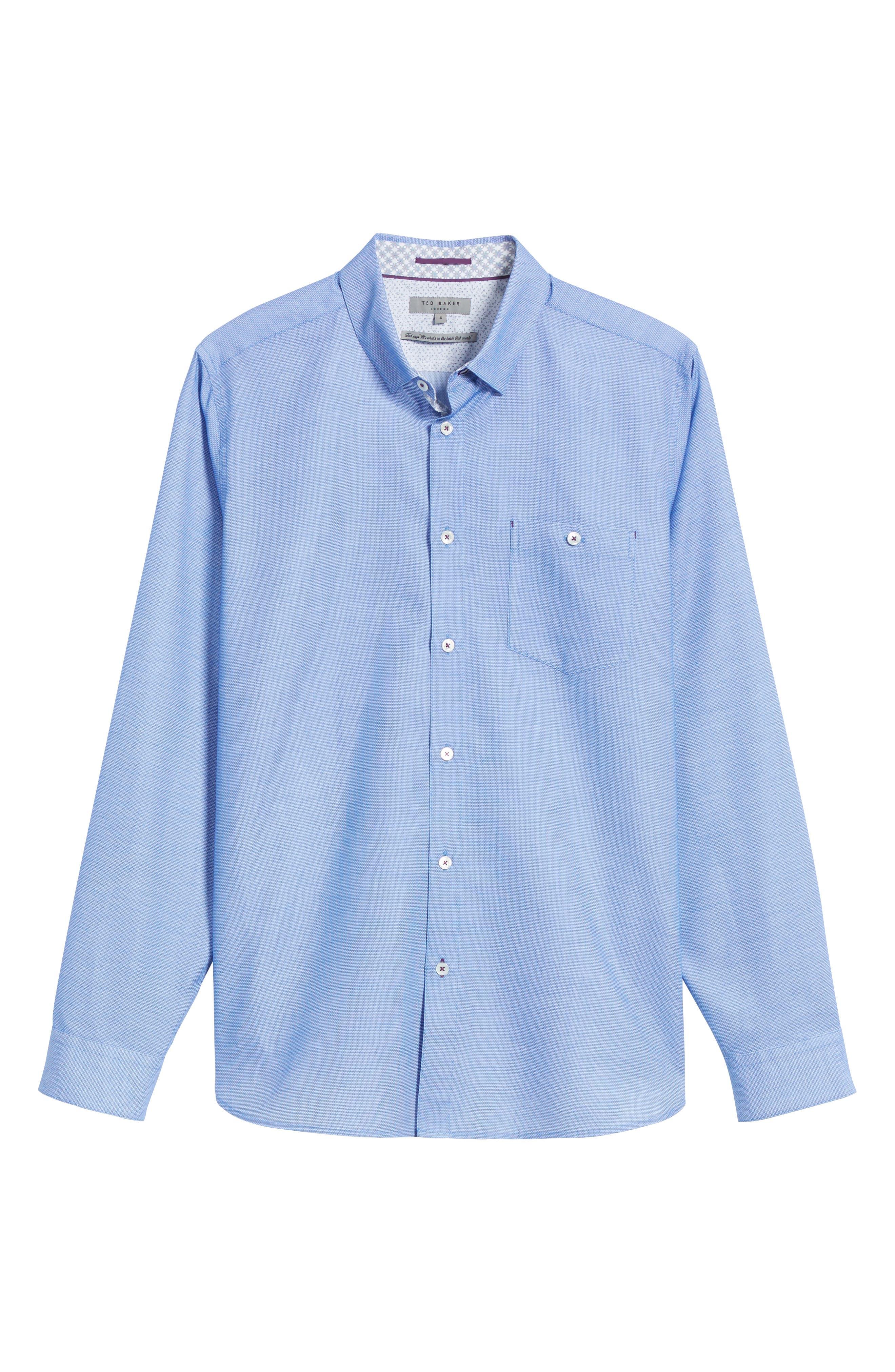 Nordlux Modern Slim Fit Stretch Cotton Sport Shirt,                             Alternate thumbnail 29, color,