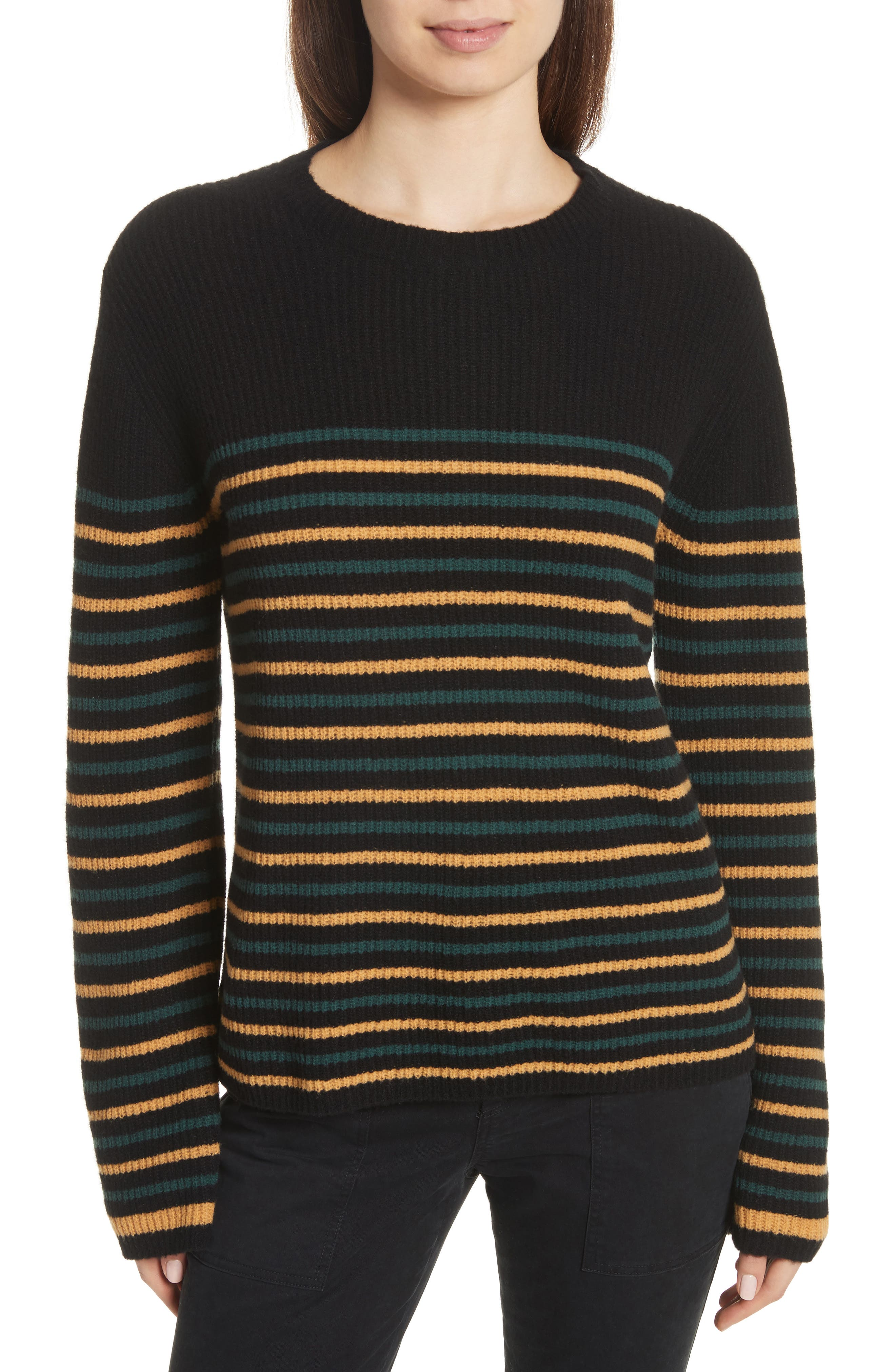 Meryl Stripe Sweater,                             Main thumbnail 1, color,