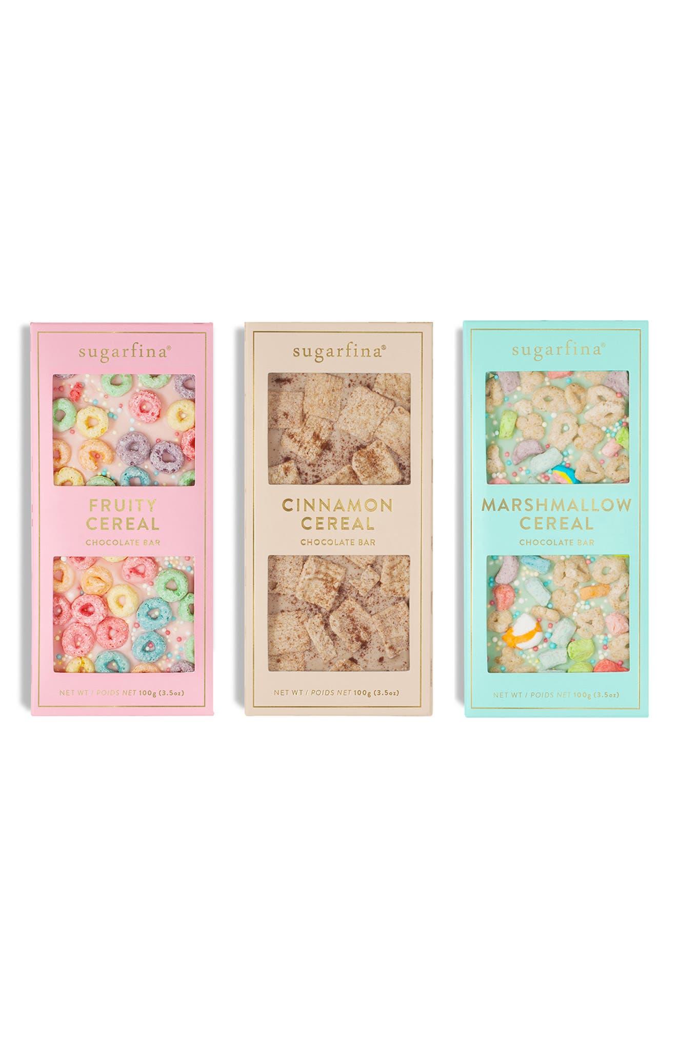 Cereal Chocolate Bar Trio, Main, color, MULTI