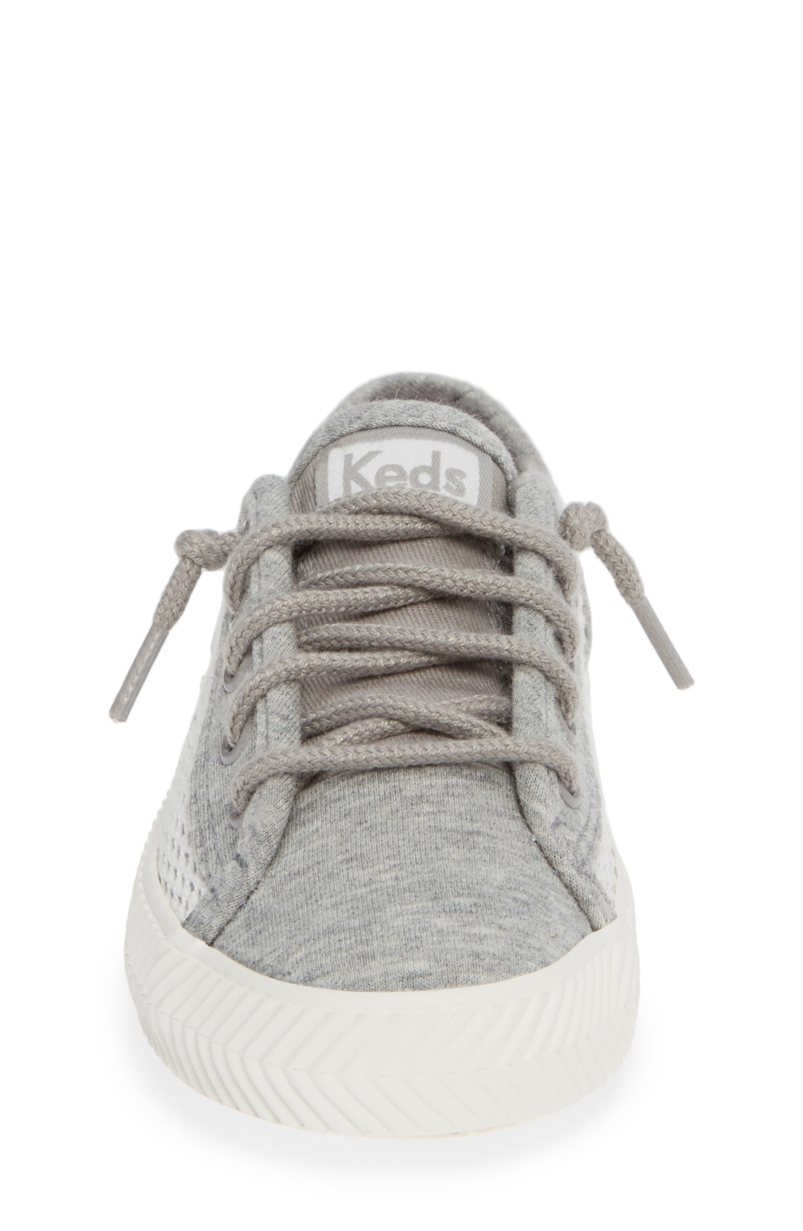 Kickstart Herringbone Mesh Sneaker,                             Alternate thumbnail 4, color,                             050