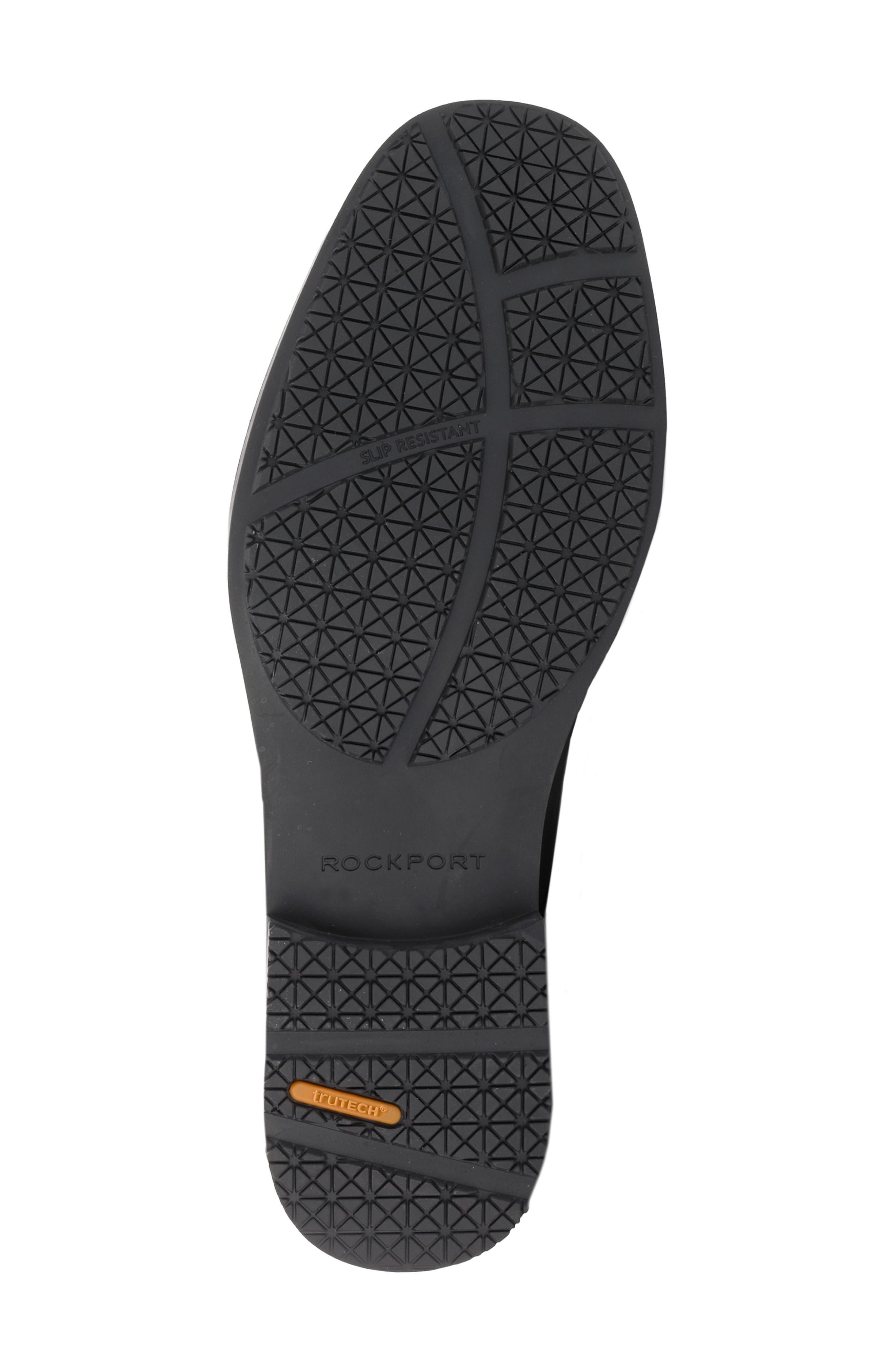 'Essential Details' Waterproof Loafer,                             Alternate thumbnail 3, color,                             BLACK