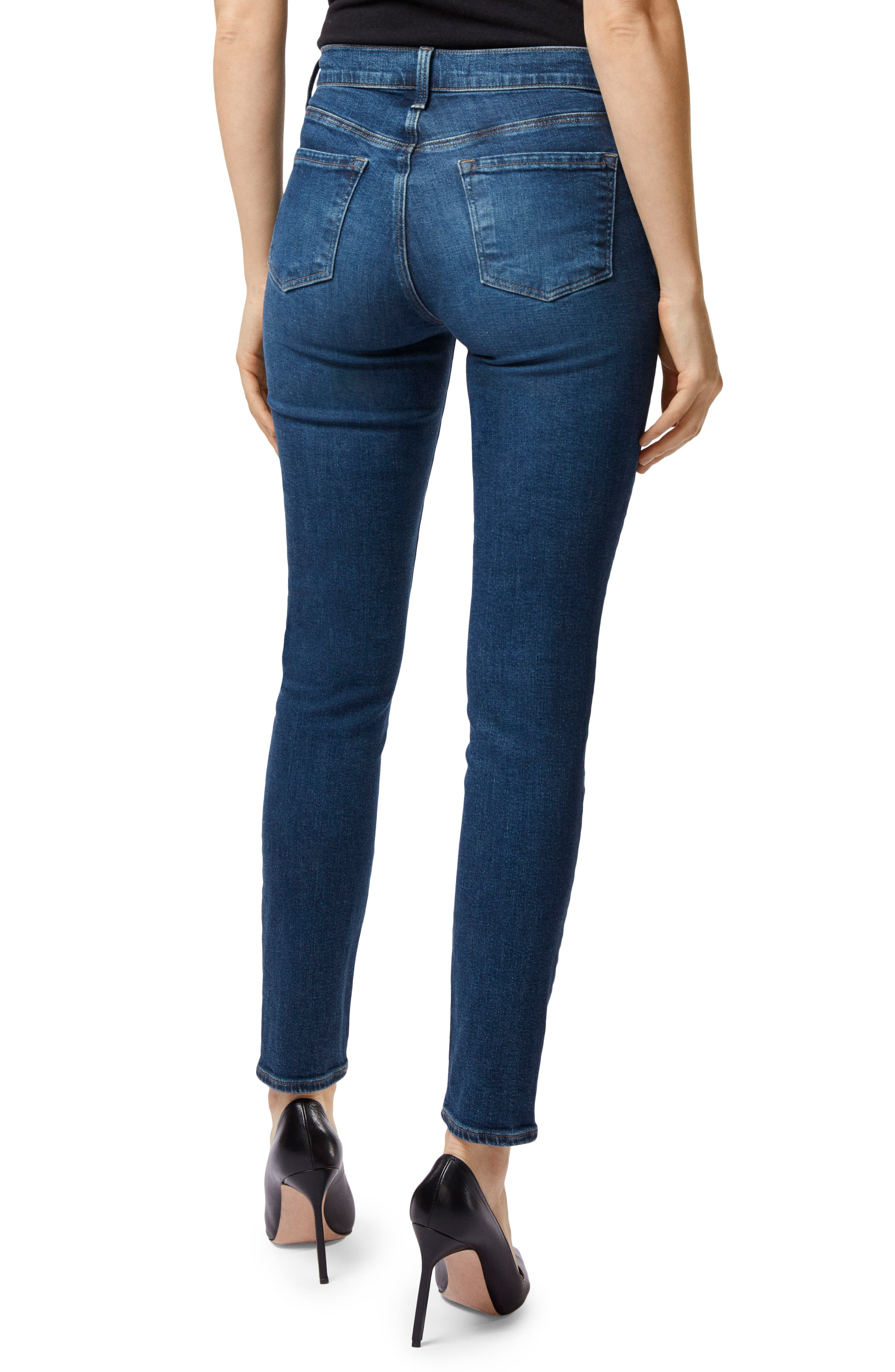 Maria High Waist Skinny Jeans,                             Alternate thumbnail 2, color,                             MORAL