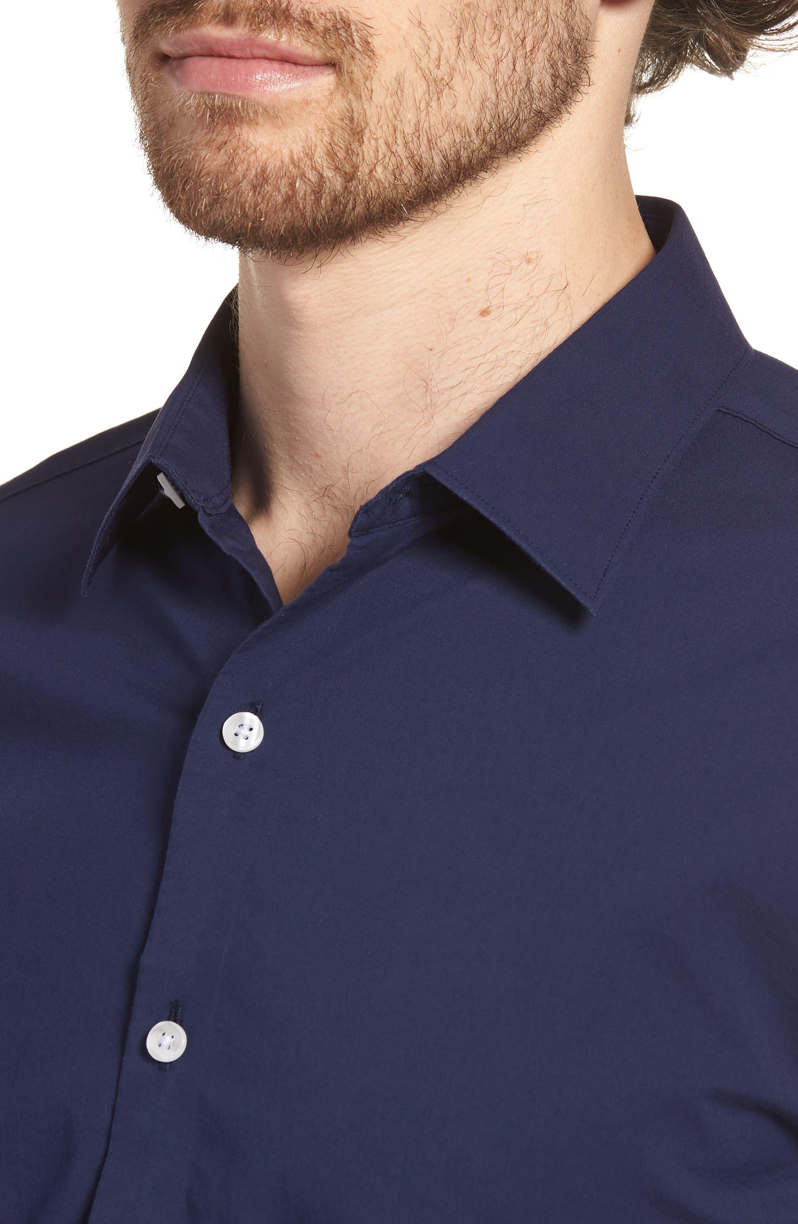 Unbutton Down 2.0 Slim Fit Sport Shirt,                             Alternate thumbnail 16, color,