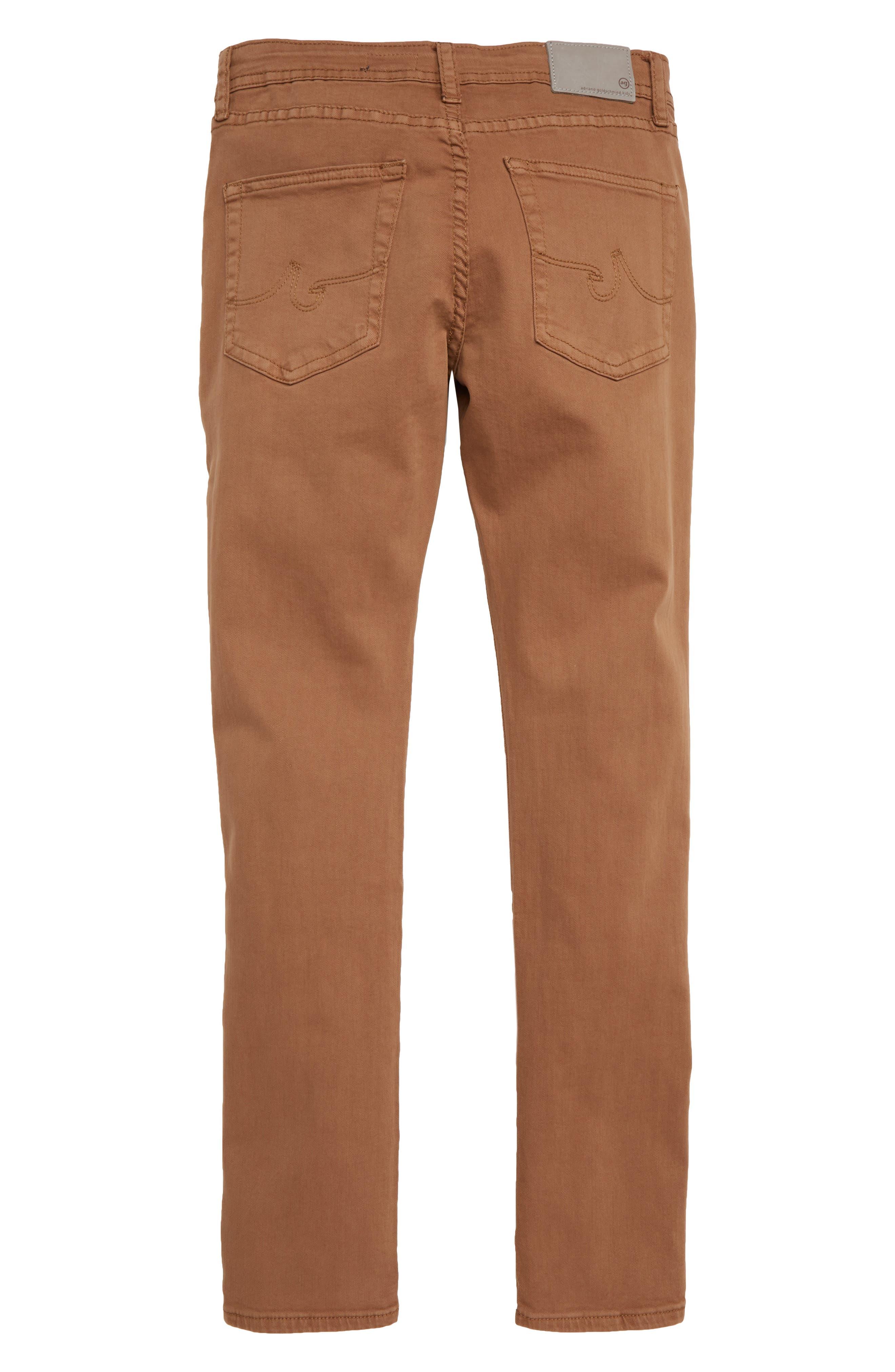 adriano goldschmied kids The Ryker Slim Skinny Jeans,                             Alternate thumbnail 2, color,                             MUSTARD GOLDEN OLIVE