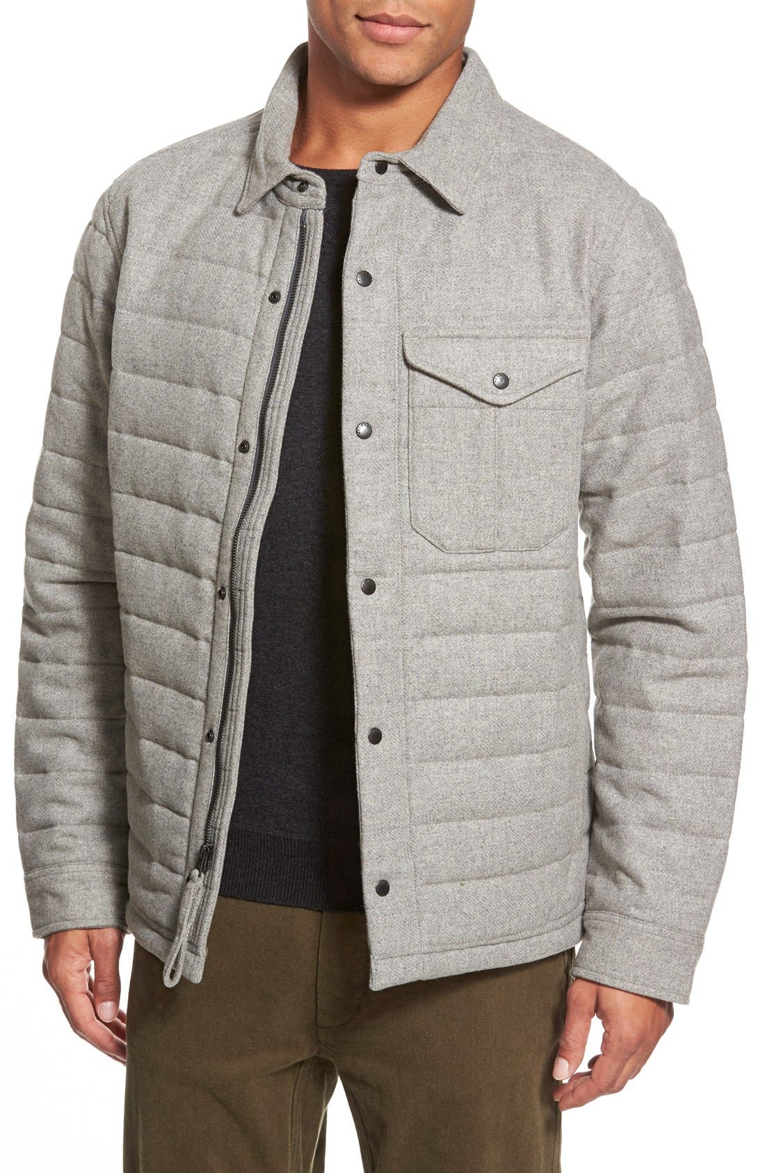 Quilted Field Jacket, Main, color, 050