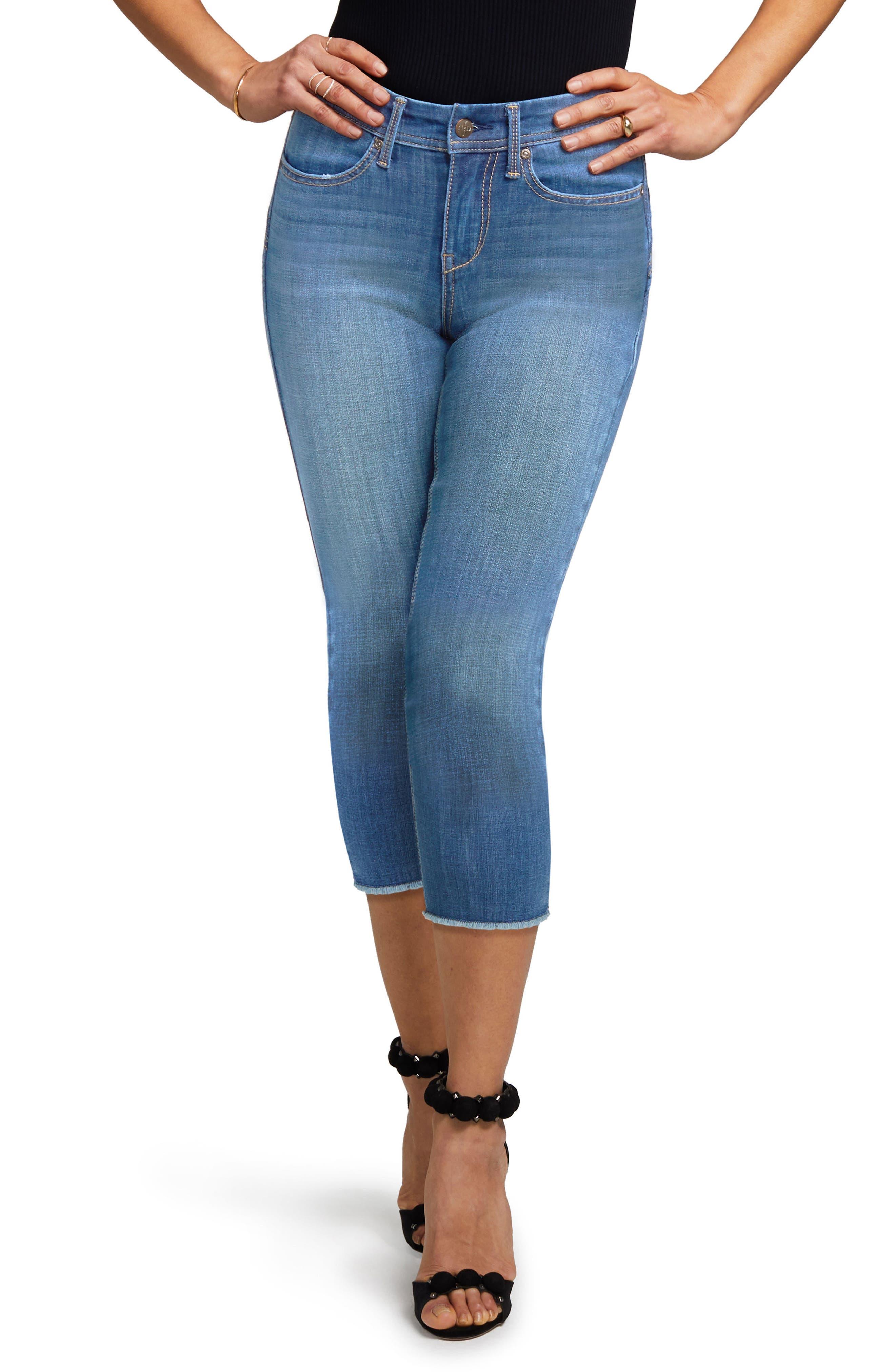 Crop Skinny Jeans,                             Main thumbnail 1, color,                             402