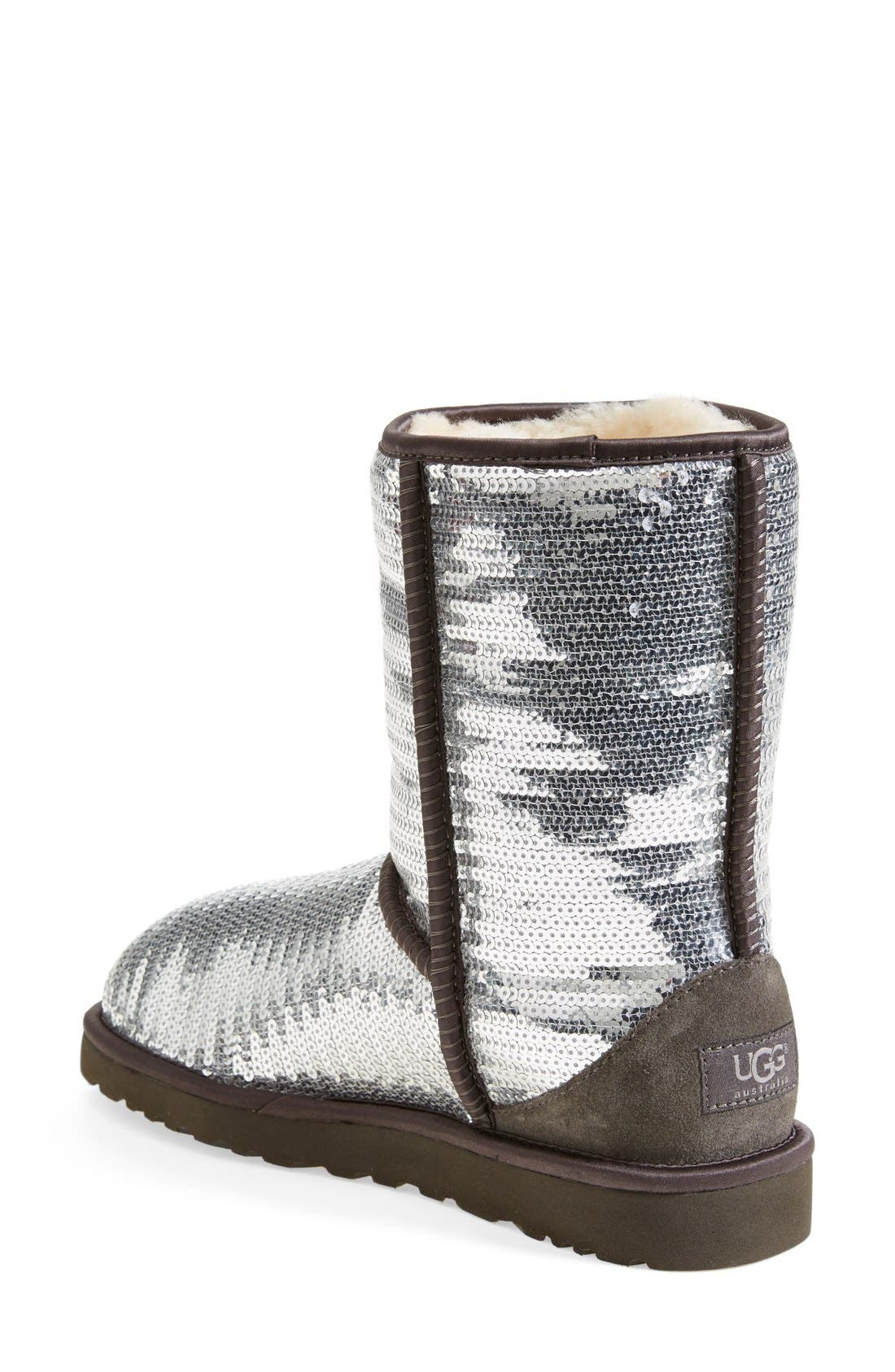 Australia 'Classic Short Sparkles' Boot,                             Alternate thumbnail 2, color,                             010