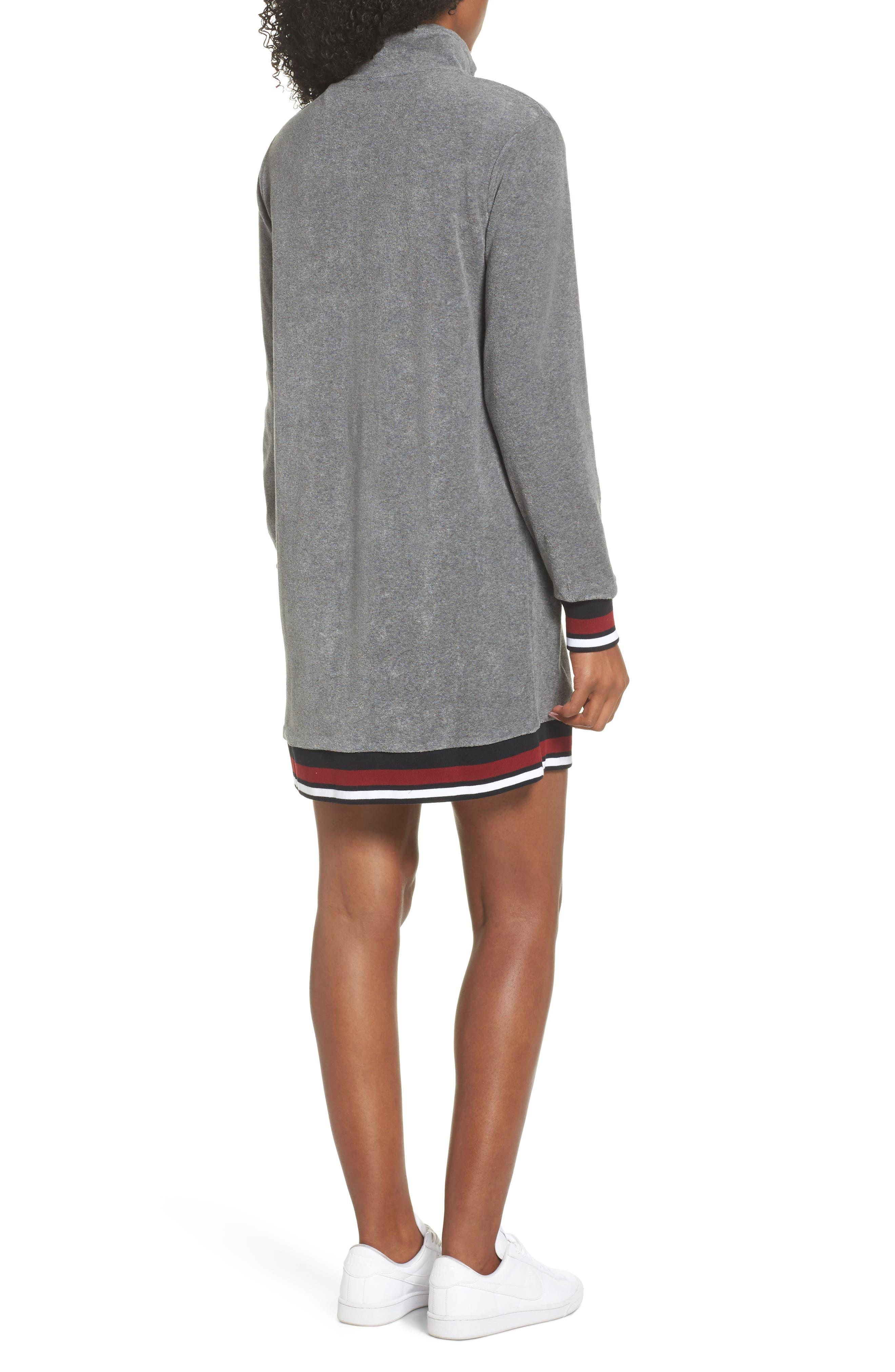 Sportswear French Terry Sweatshirt Dress,                             Alternate thumbnail 2, color,                             020