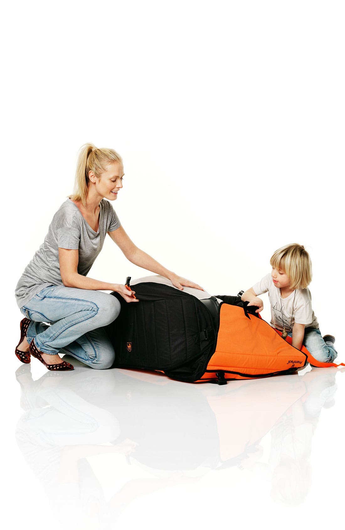 Pram Pack<sup>™</sup>,                             Alternate thumbnail 4, color,                             ORANGE/ BLACK
