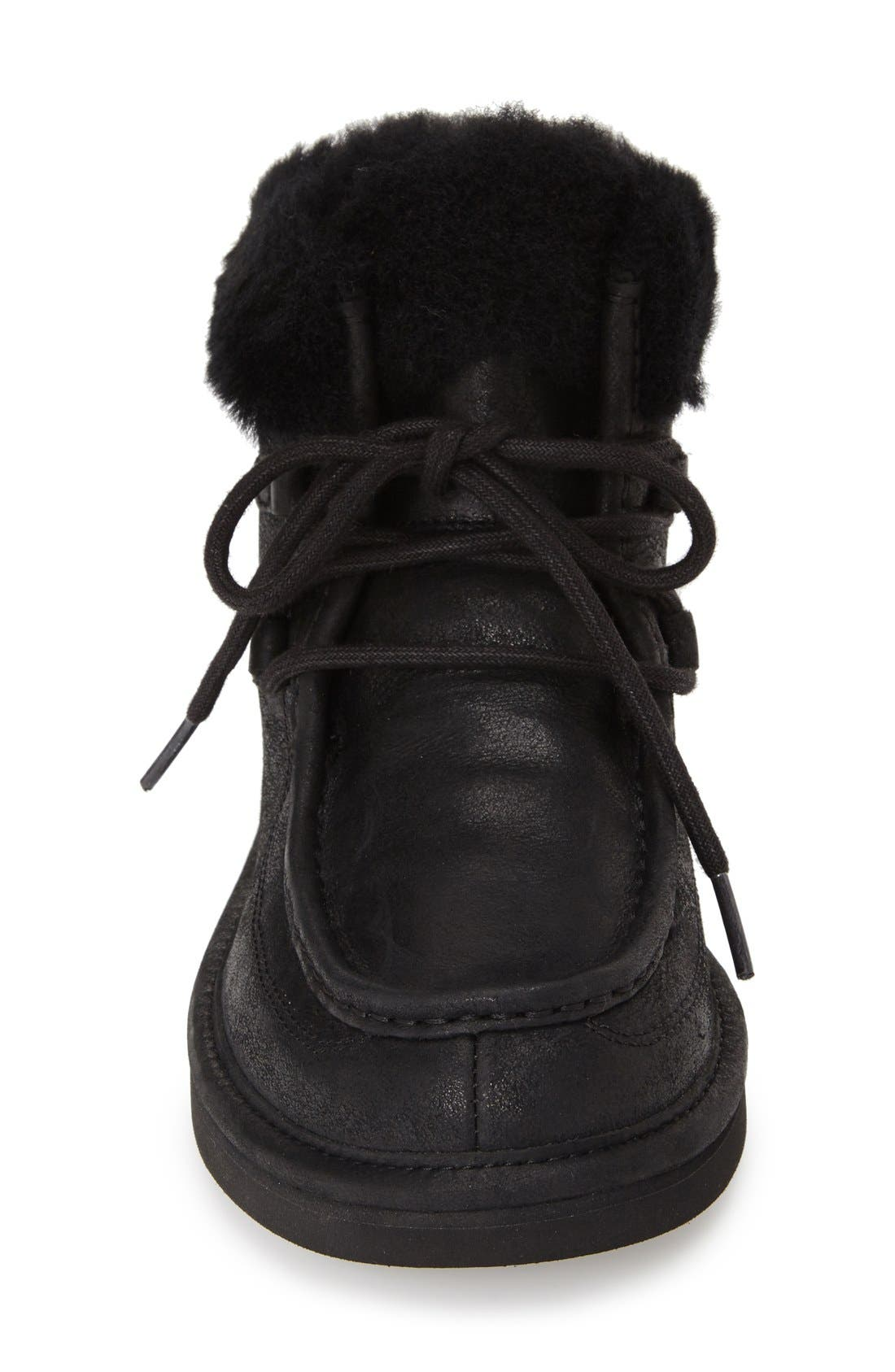 'Cypress' Water ResistantBoot,                             Alternate thumbnail 4, color,                             001