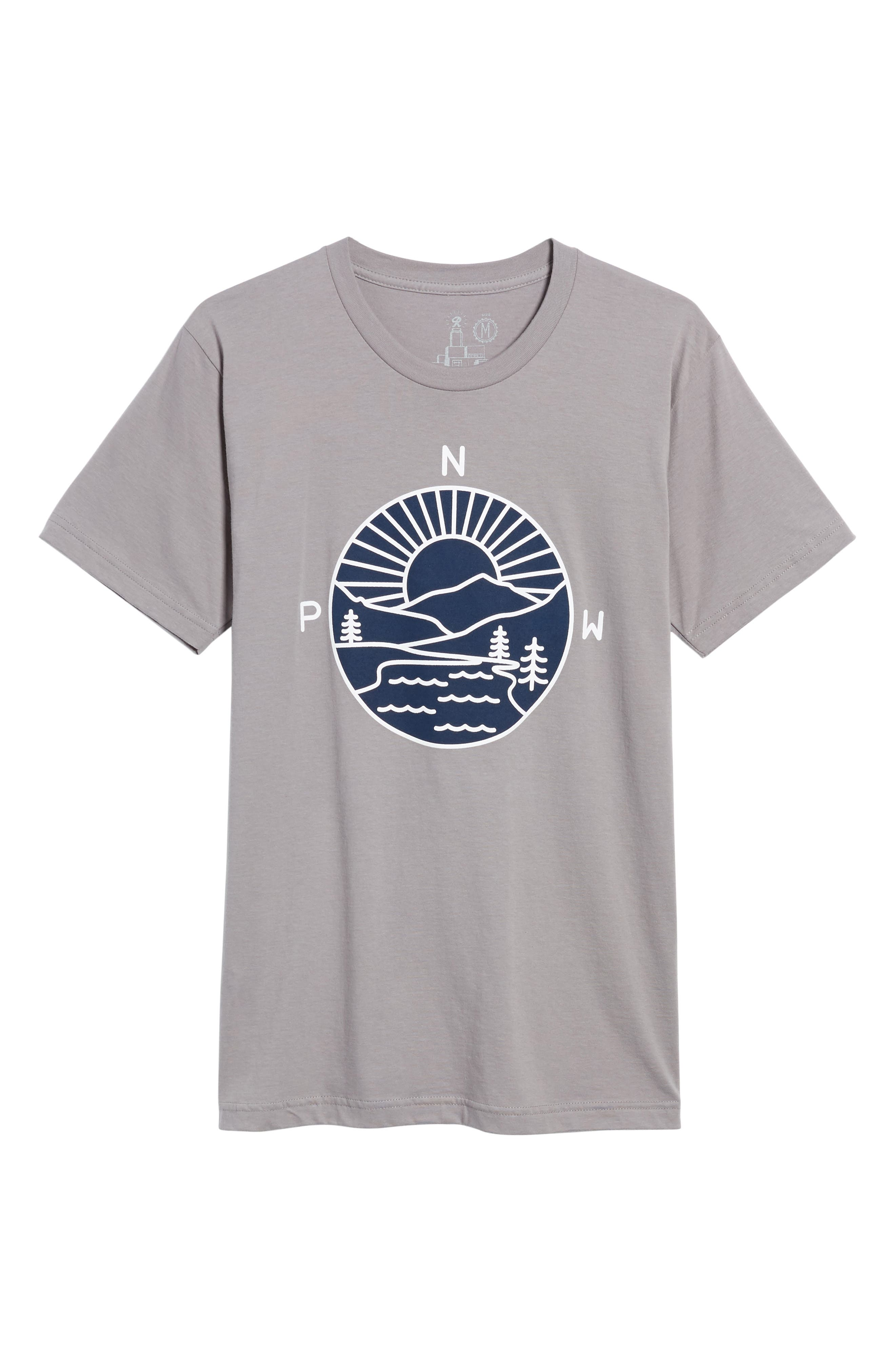 PNW Explorer T-Shirt,                             Alternate thumbnail 6, color,                             020