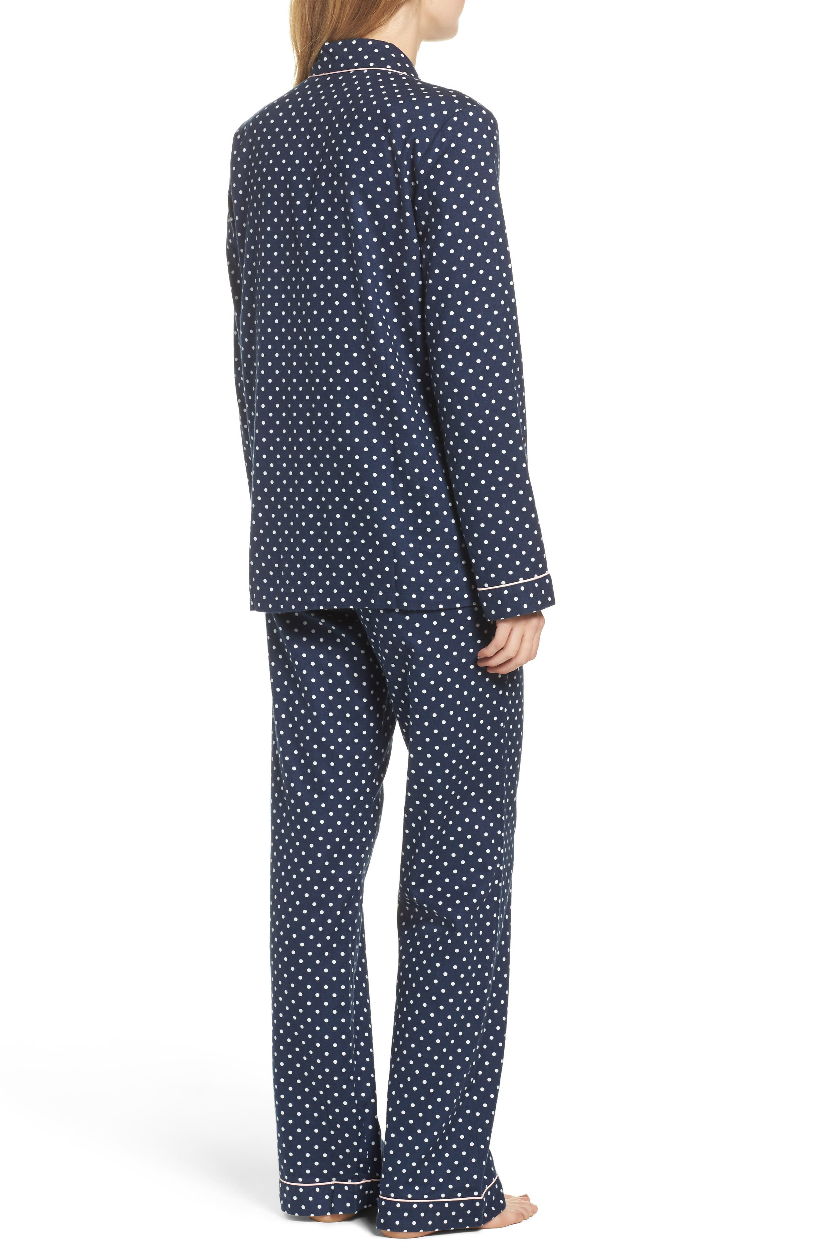 Cotton Twill Pajamas,                             Alternate thumbnail 2, color,                             414