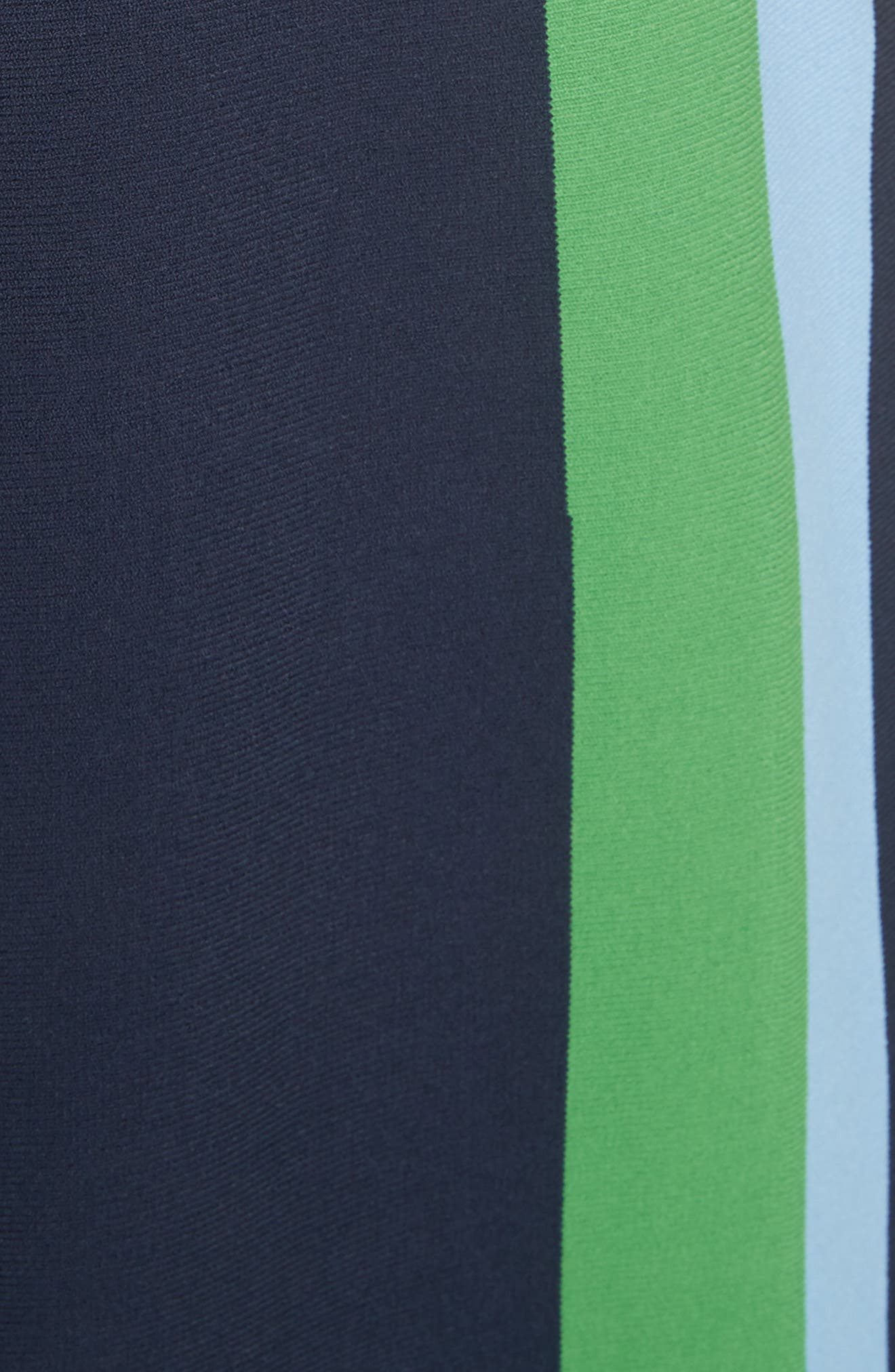 Tech Knit Colorblock Skirt,                             Alternate thumbnail 5, color,                             405