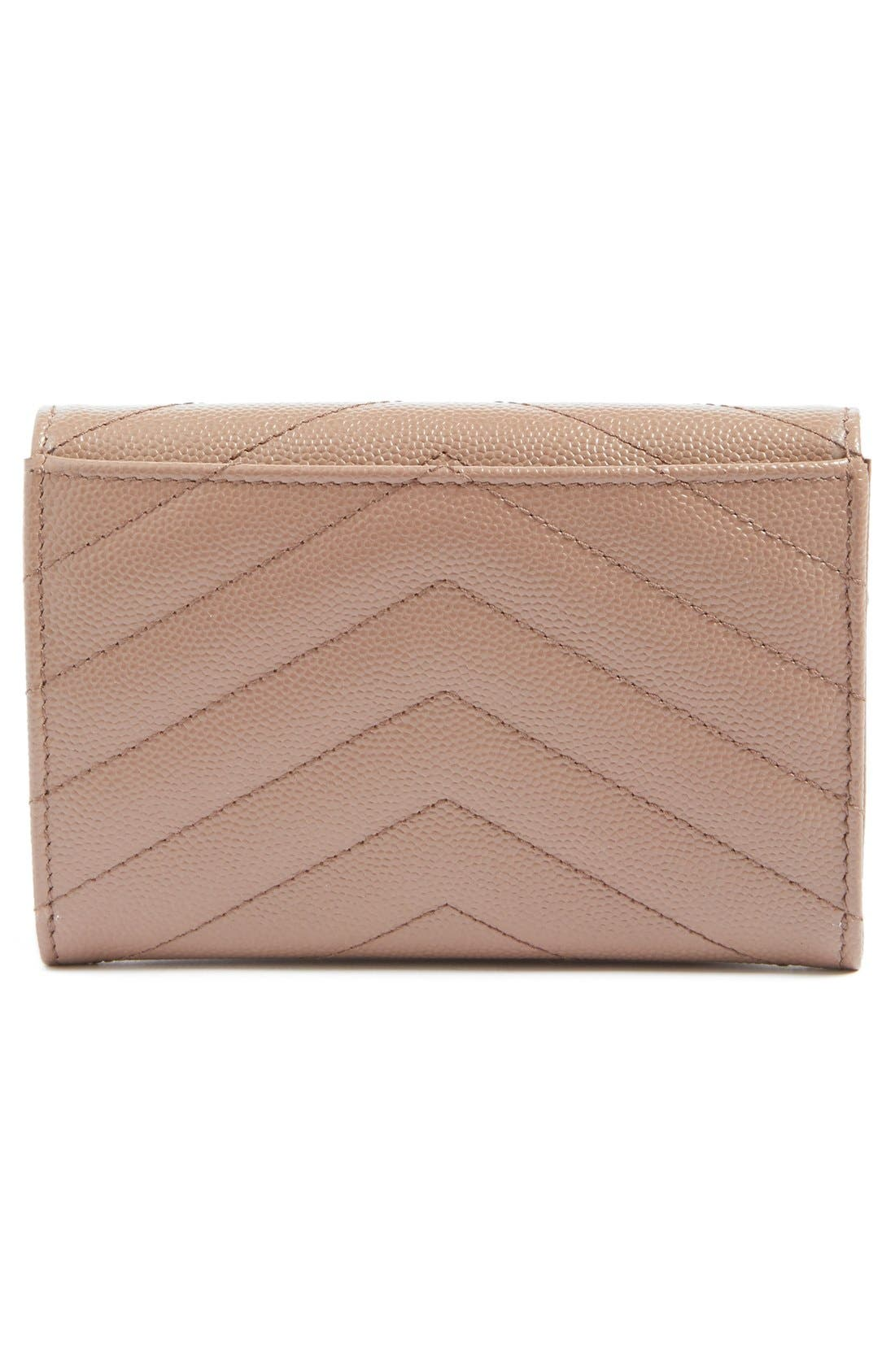 'Small Monogram' Leather French Wallet,                             Alternate thumbnail 33, color,