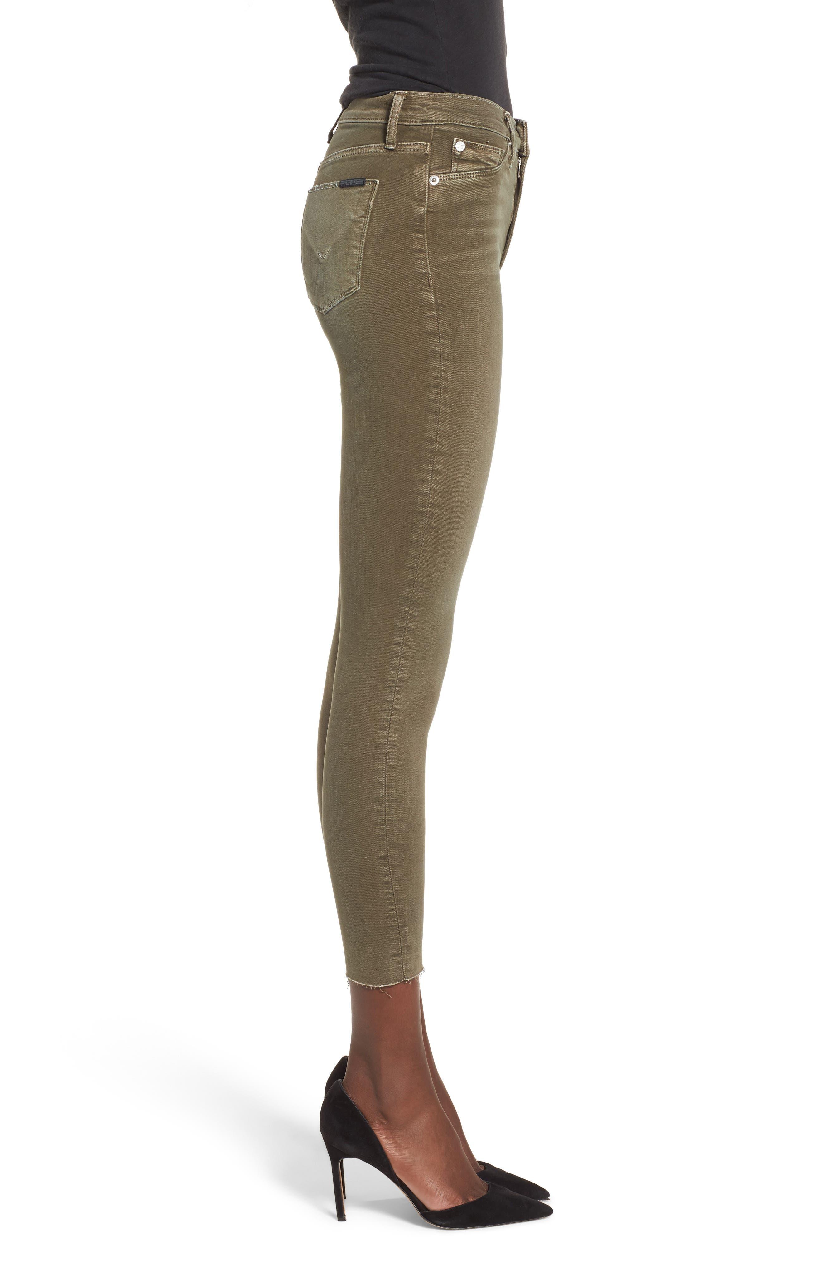 Barbara High Waist Ankle Skinny Jeans,                             Alternate thumbnail 12, color,
