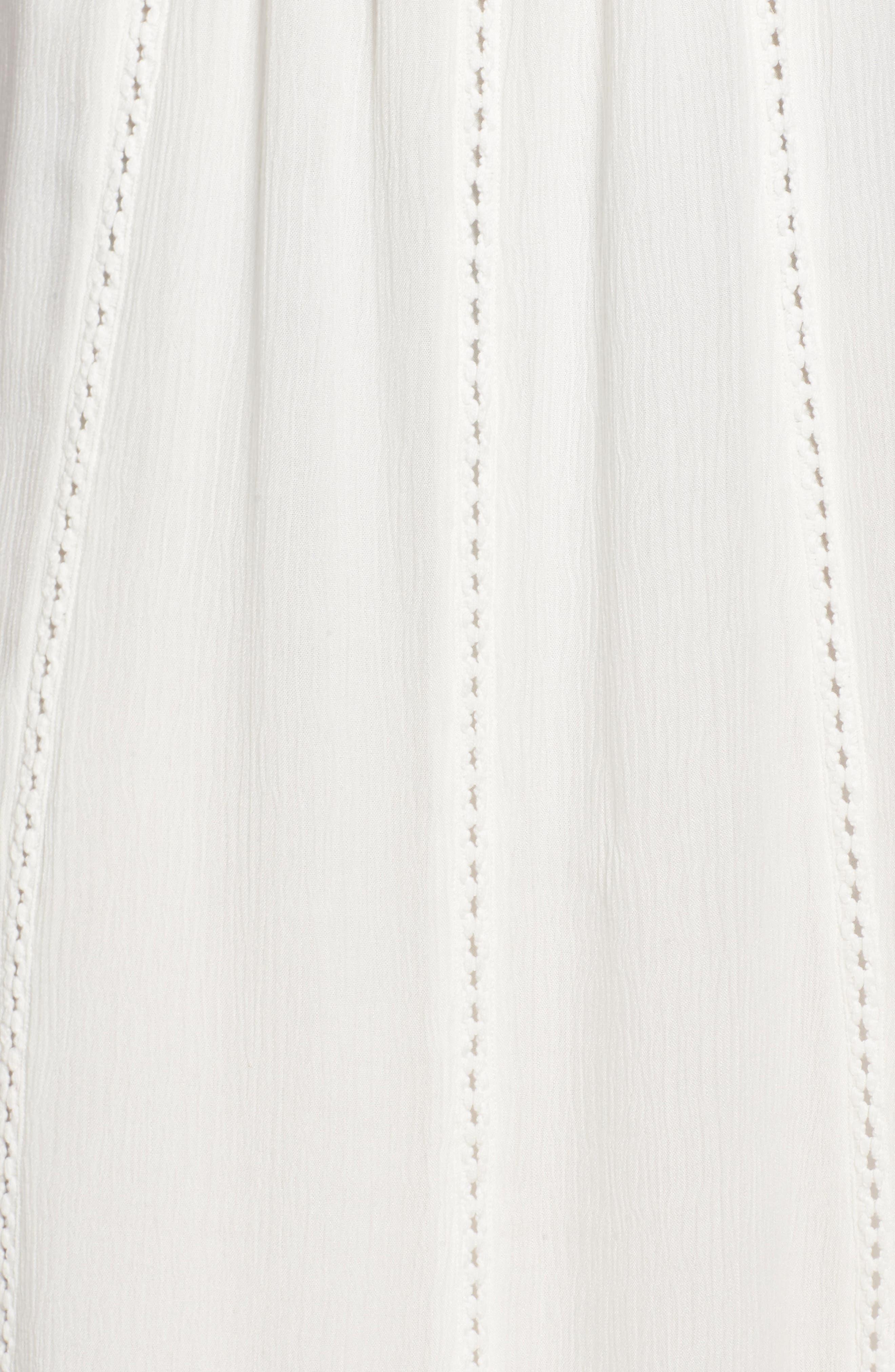 Ladder Trim Midi Dress,                             Alternate thumbnail 15, color,