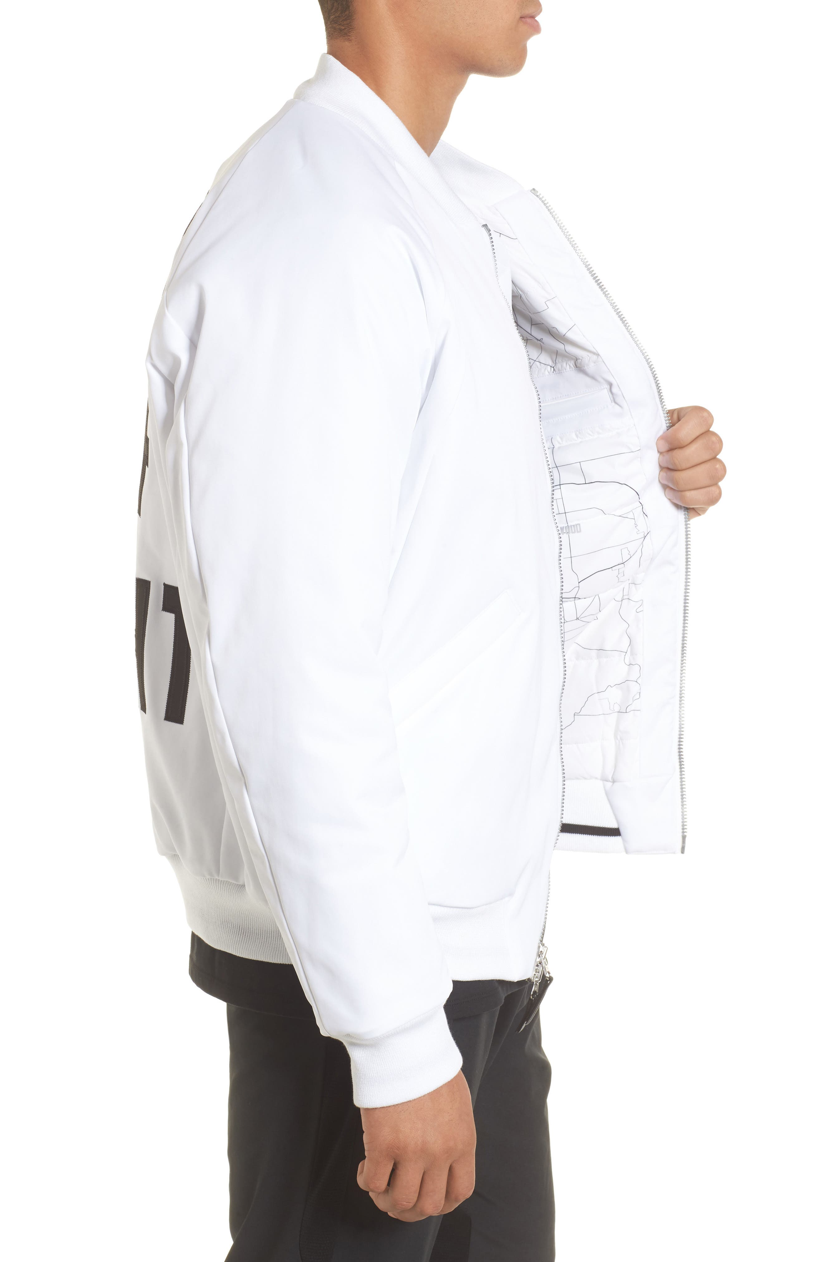 Sportswear City of Flight MA-1 Bomber Jacket,                             Alternate thumbnail 6, color,