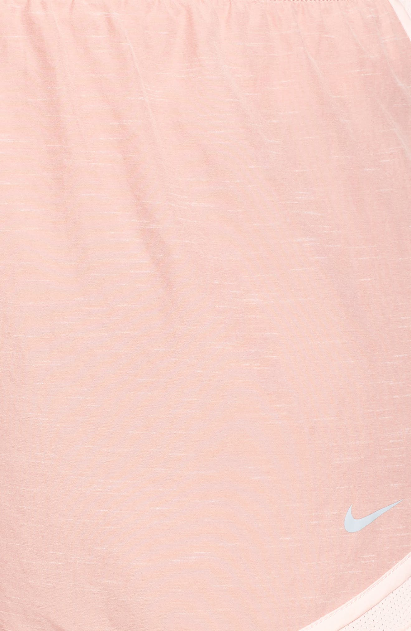 Dry Tempo High Rise Running Shorts,                             Alternate thumbnail 6, color,                             RUST PINK/ STORM PINK