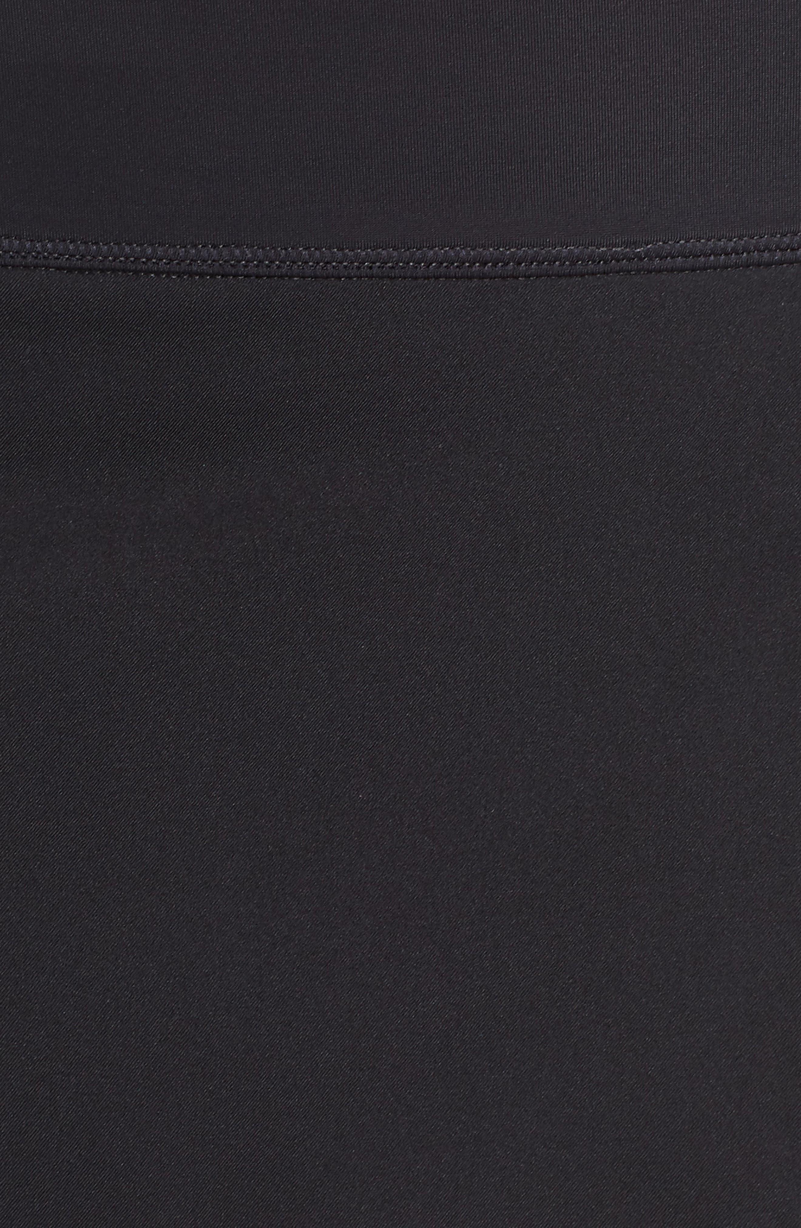 Swim Board Skirt,                             Alternate thumbnail 5, color,                             BLACK
