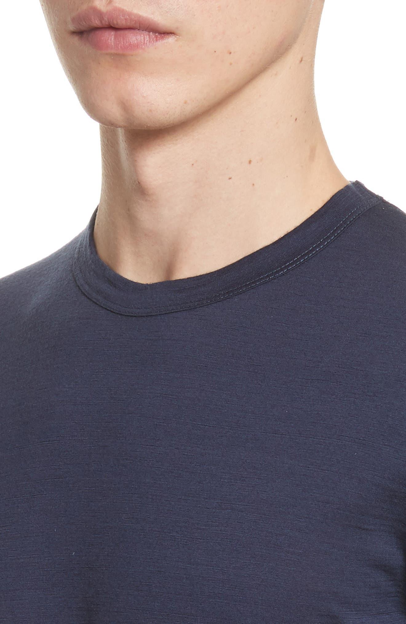 Jesper Mercerized Wool T-Shirt,                             Alternate thumbnail 4, color,                             410