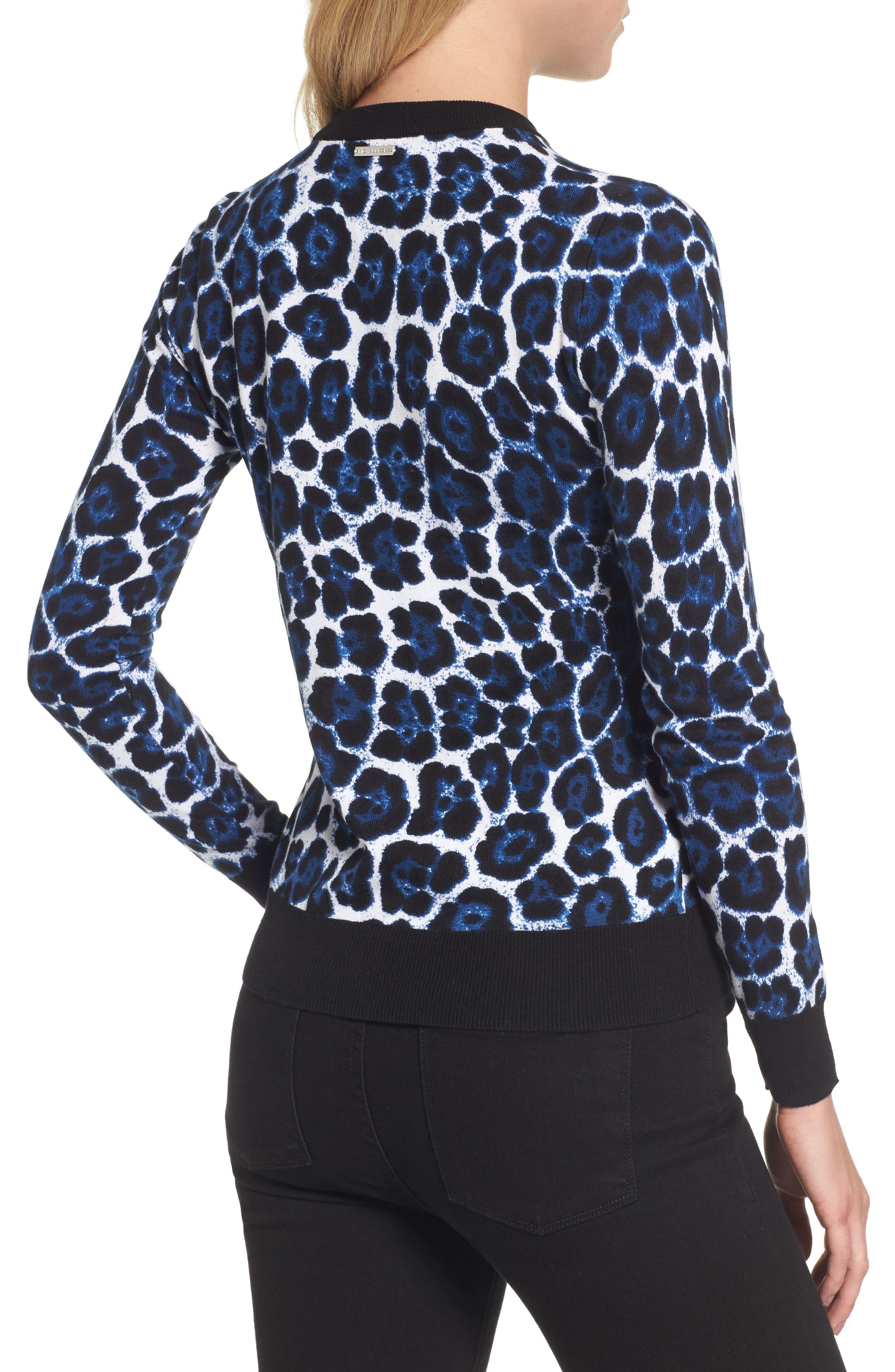 Cheetah Print Sweater,                             Alternate thumbnail 2, color,                             403