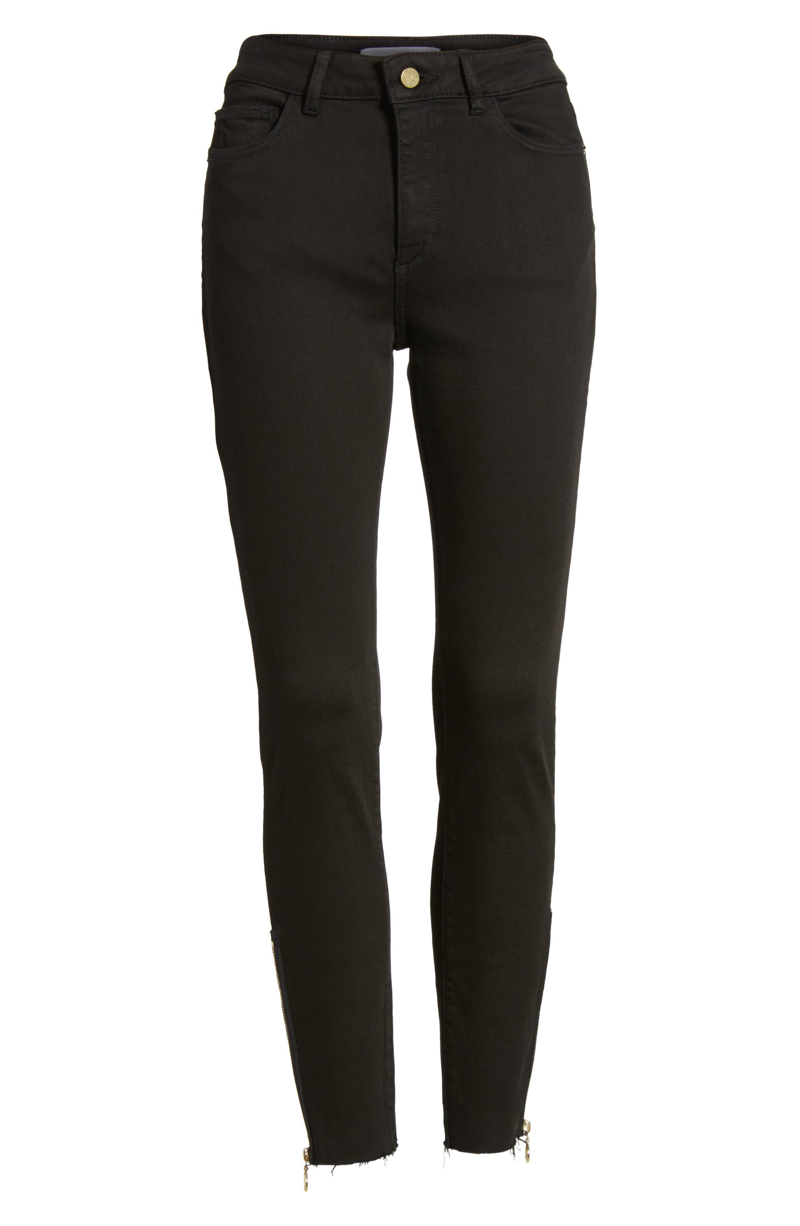 Farrow Instaslim High Waist Ankle Skinny Jeans,                             Alternate thumbnail 6, color,