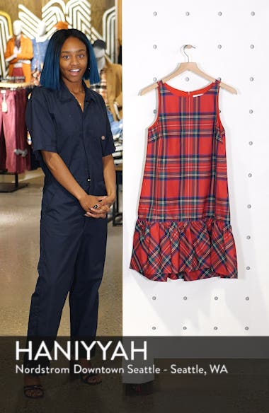 Amelia Jolly Plaid Swing Dress, sales video thumbnail