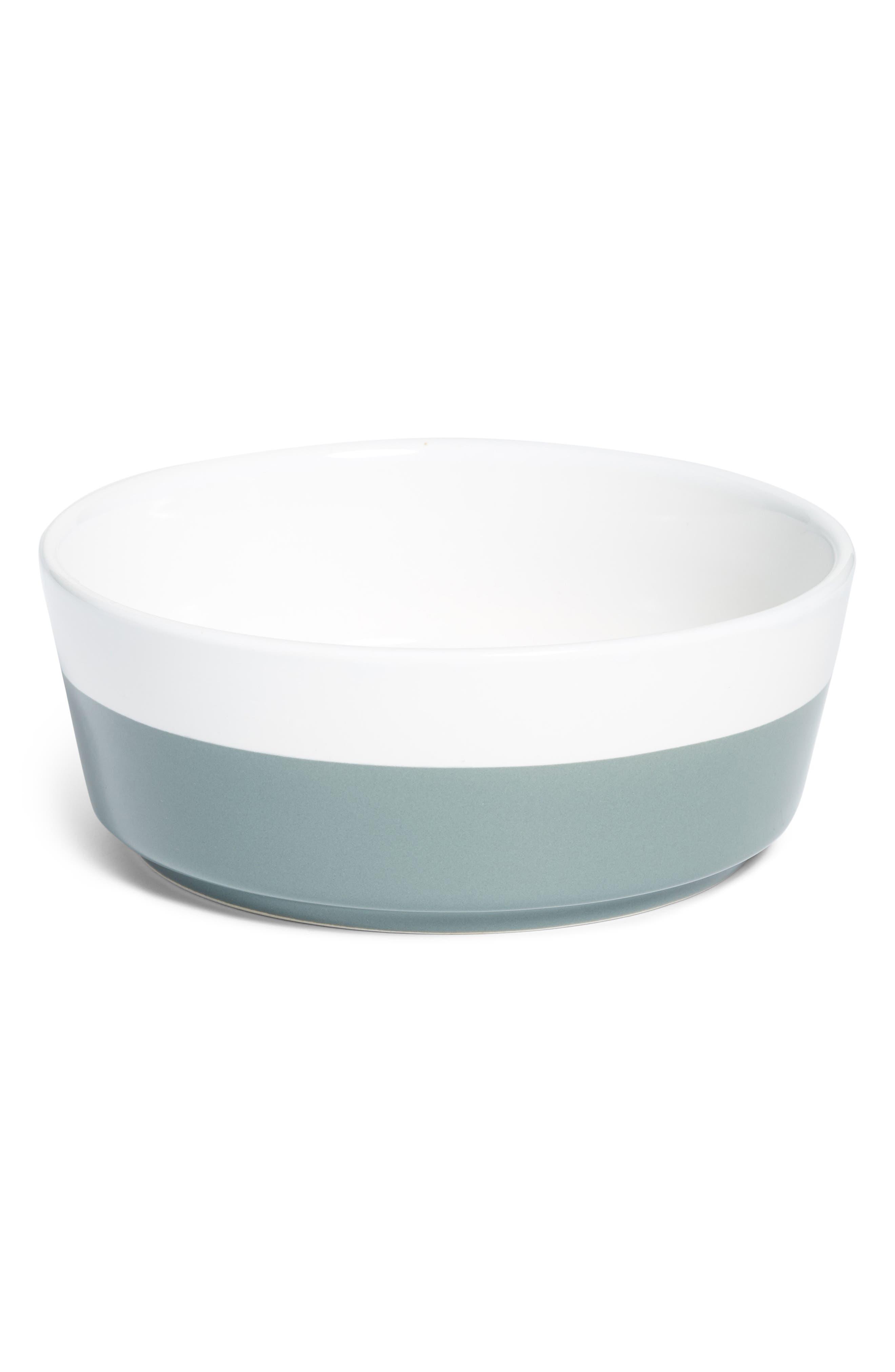 Dipper Ceramic Dog Bowl,                             Main thumbnail 1, color,                             020
