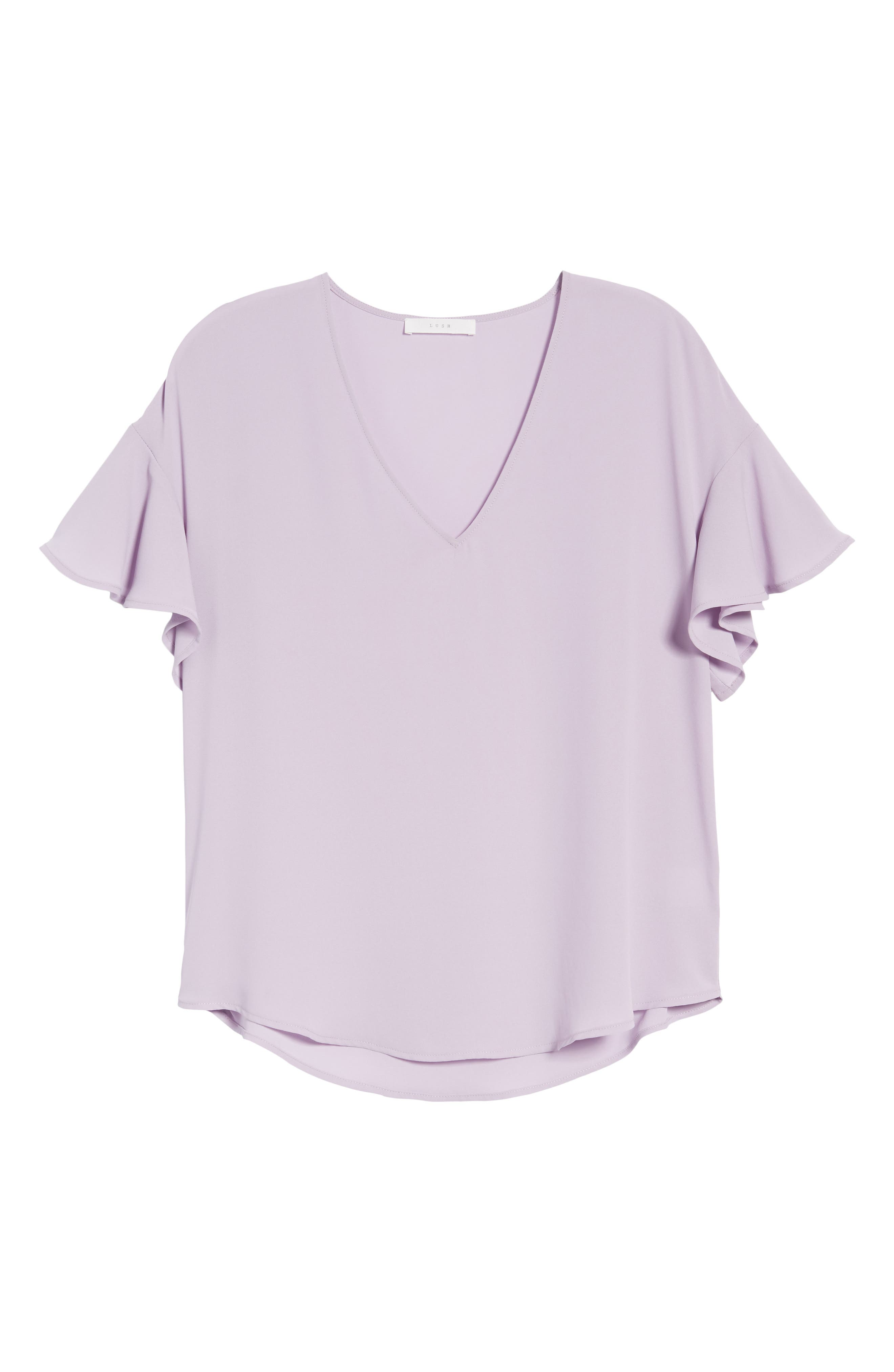 Crepe Tee,                             Alternate thumbnail 45, color,