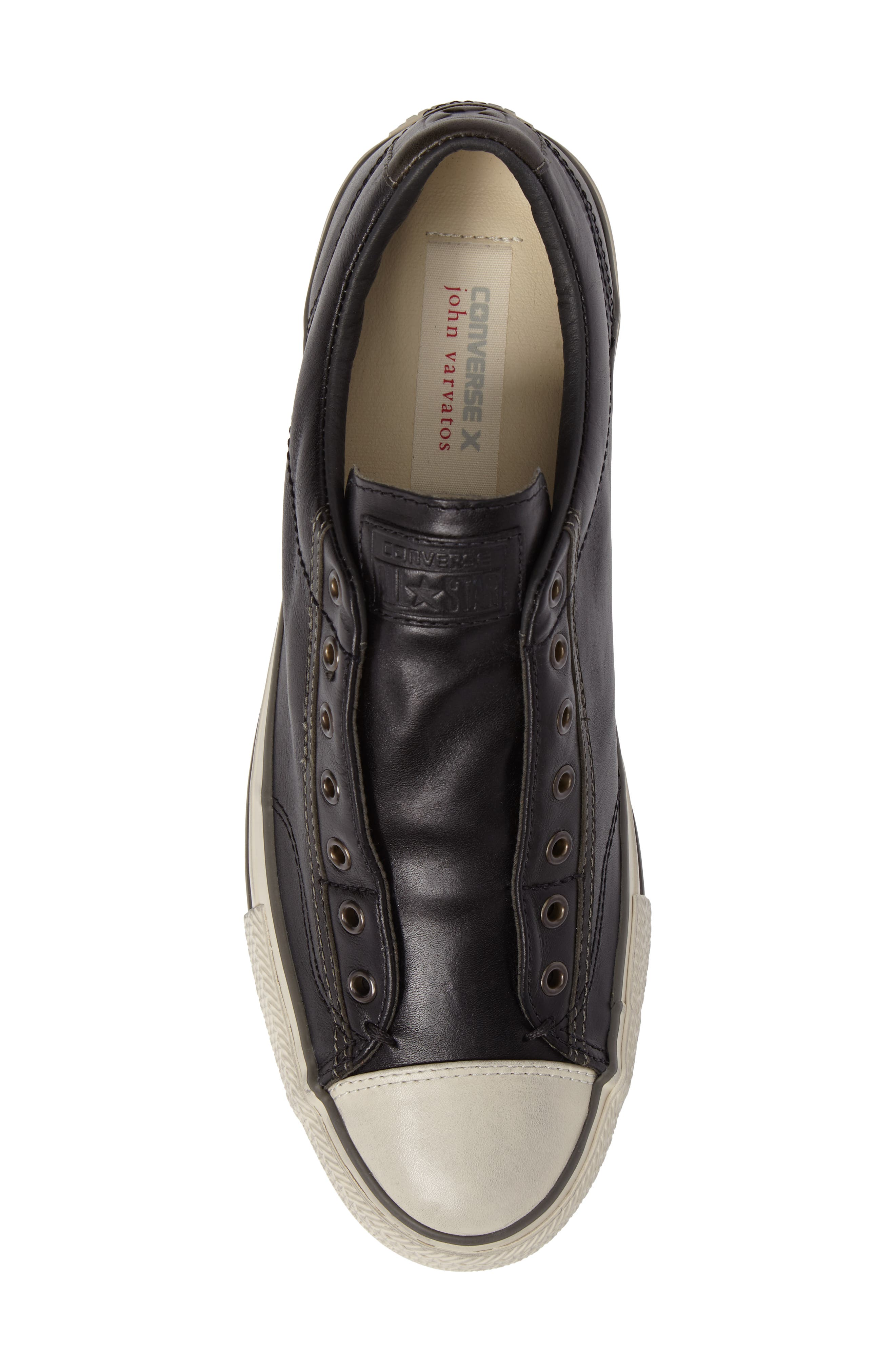 by John Varvatos Sneaker,                             Alternate thumbnail 5, color,                             001