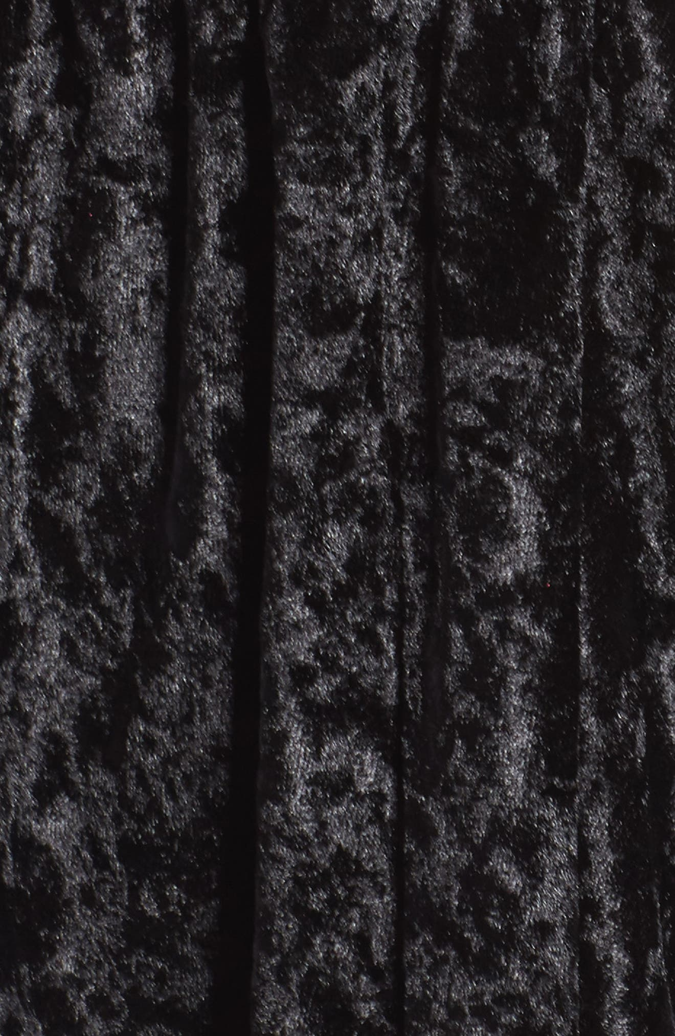 Velvet Lounge Romper,                             Alternate thumbnail 5, color,                             001