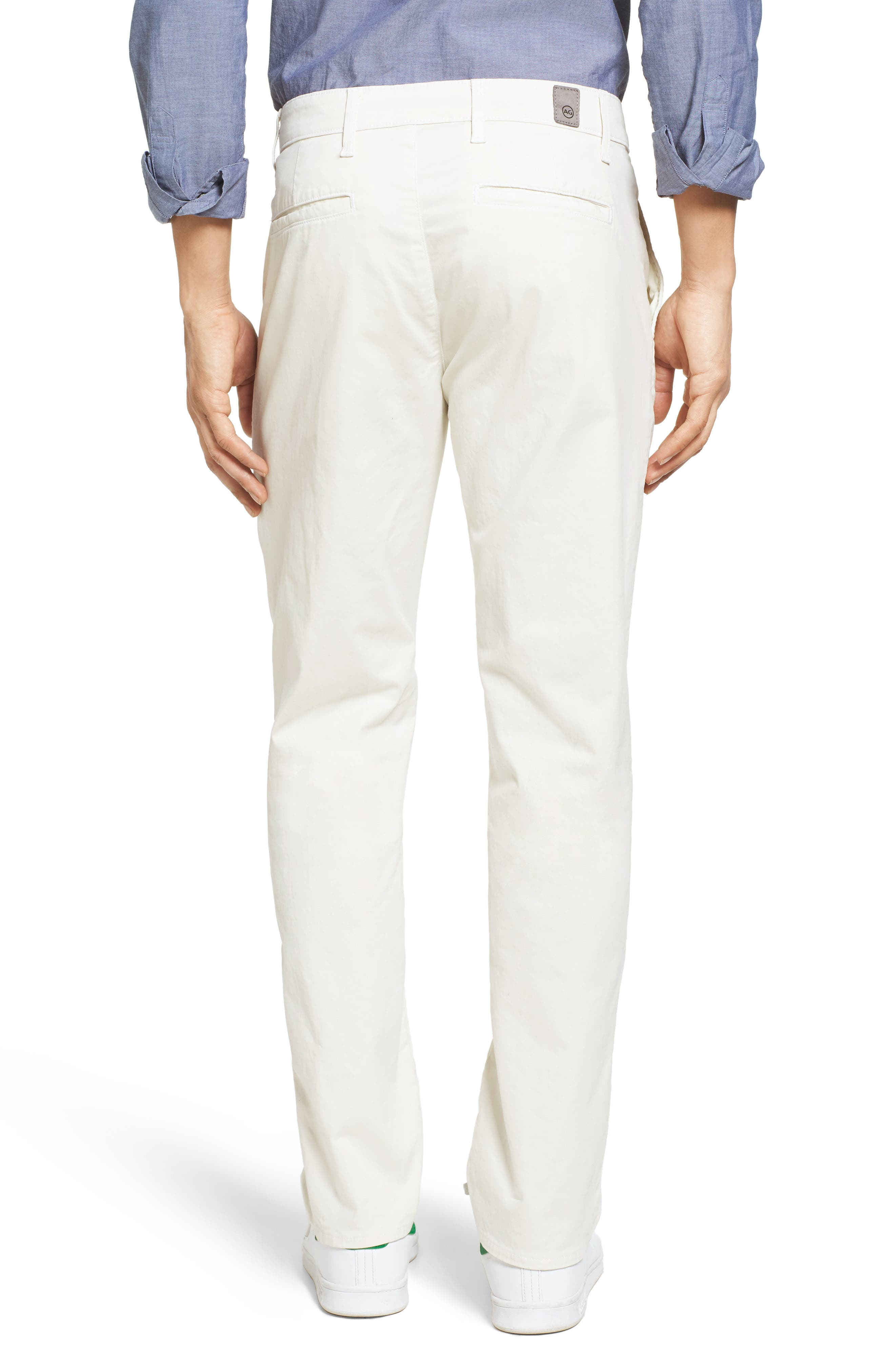 'The Lux' Tailored Straight Leg Chinos,                             Alternate thumbnail 19, color,