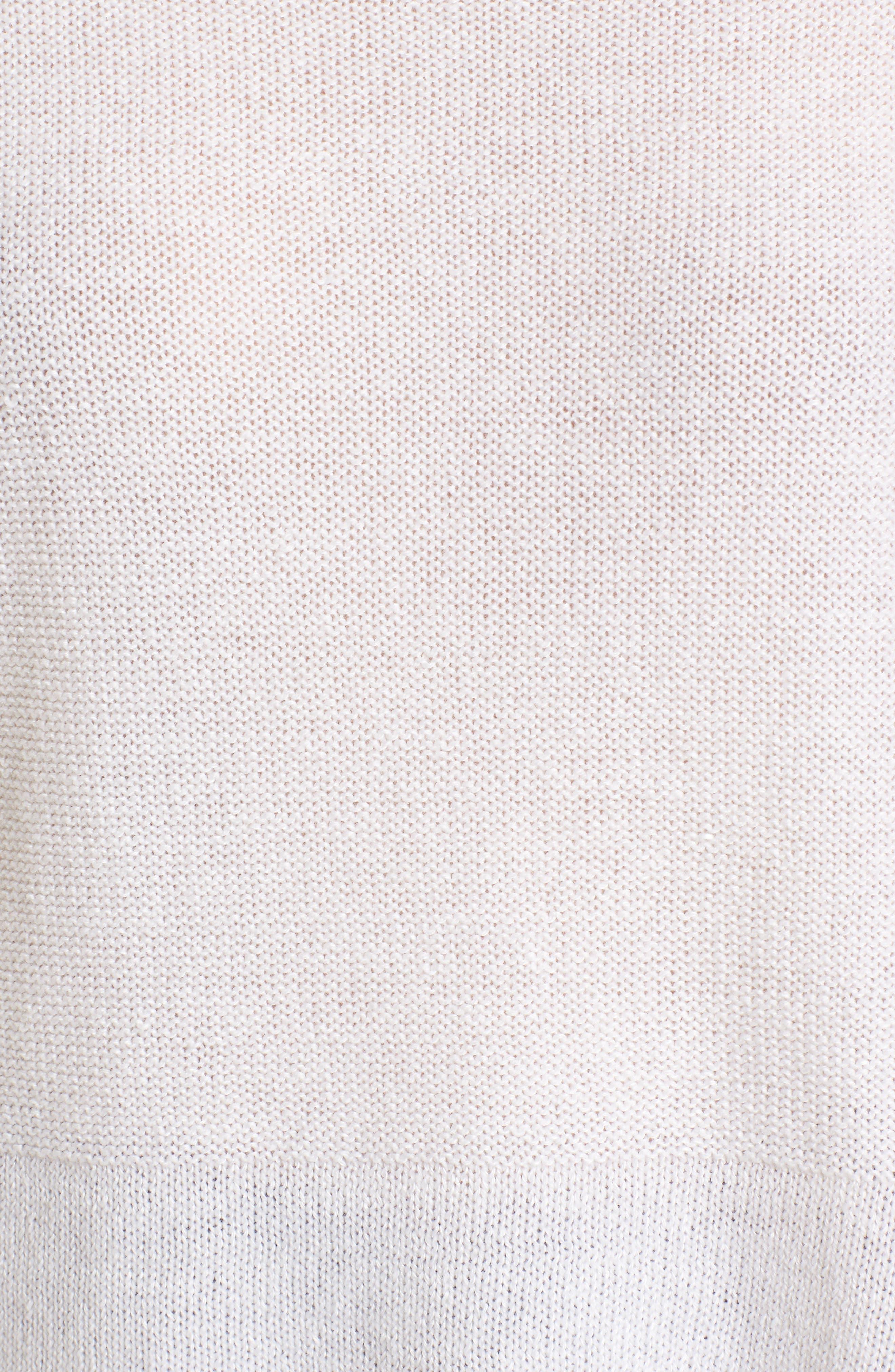 Linen & Cashmere Sweater,                             Alternate thumbnail 10, color,
