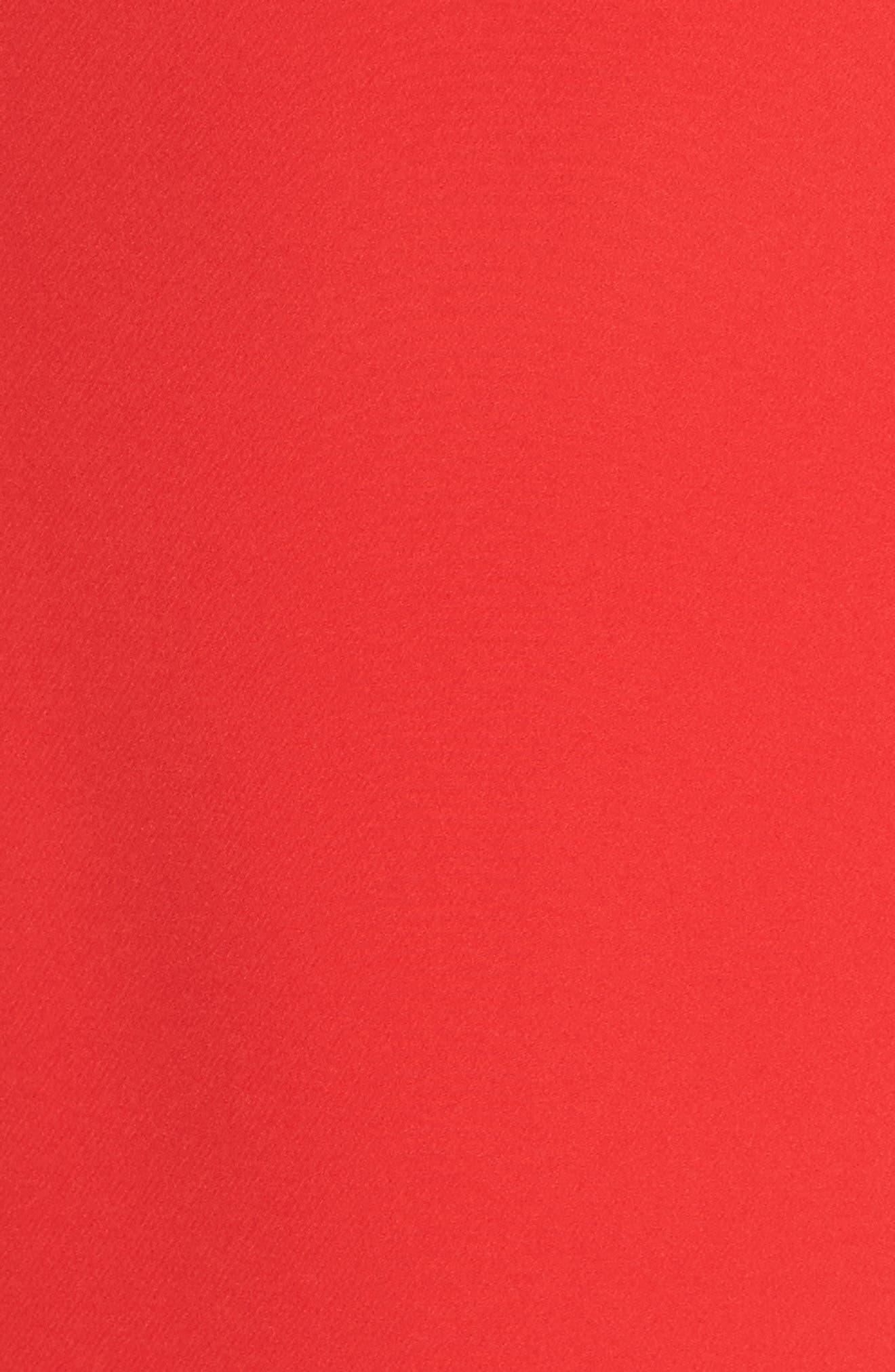 Ruffle One-Shoulder Dress,                             Alternate thumbnail 5, color,