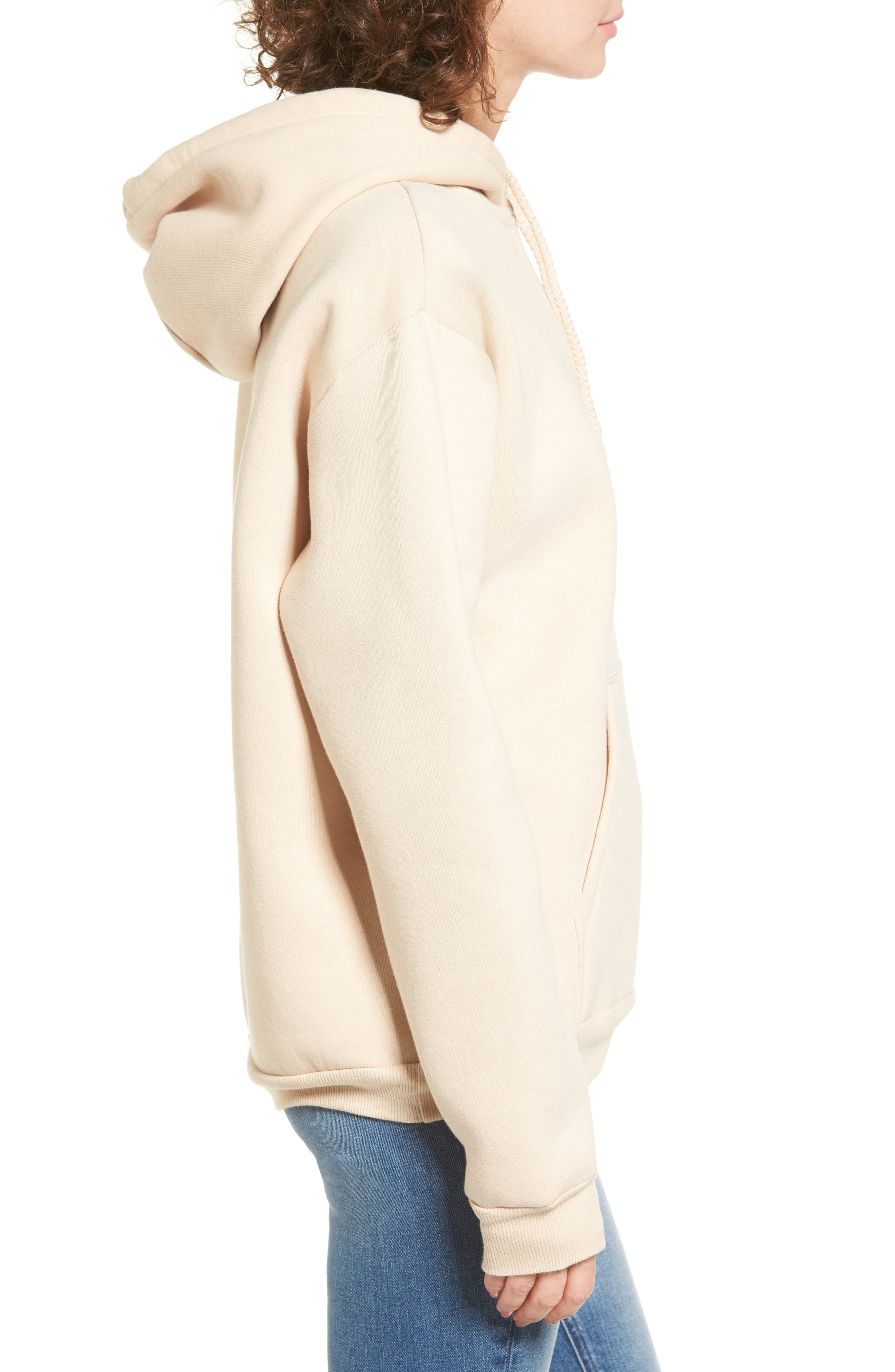 Oversize Hoodie,                             Alternate thumbnail 3, color,                             250