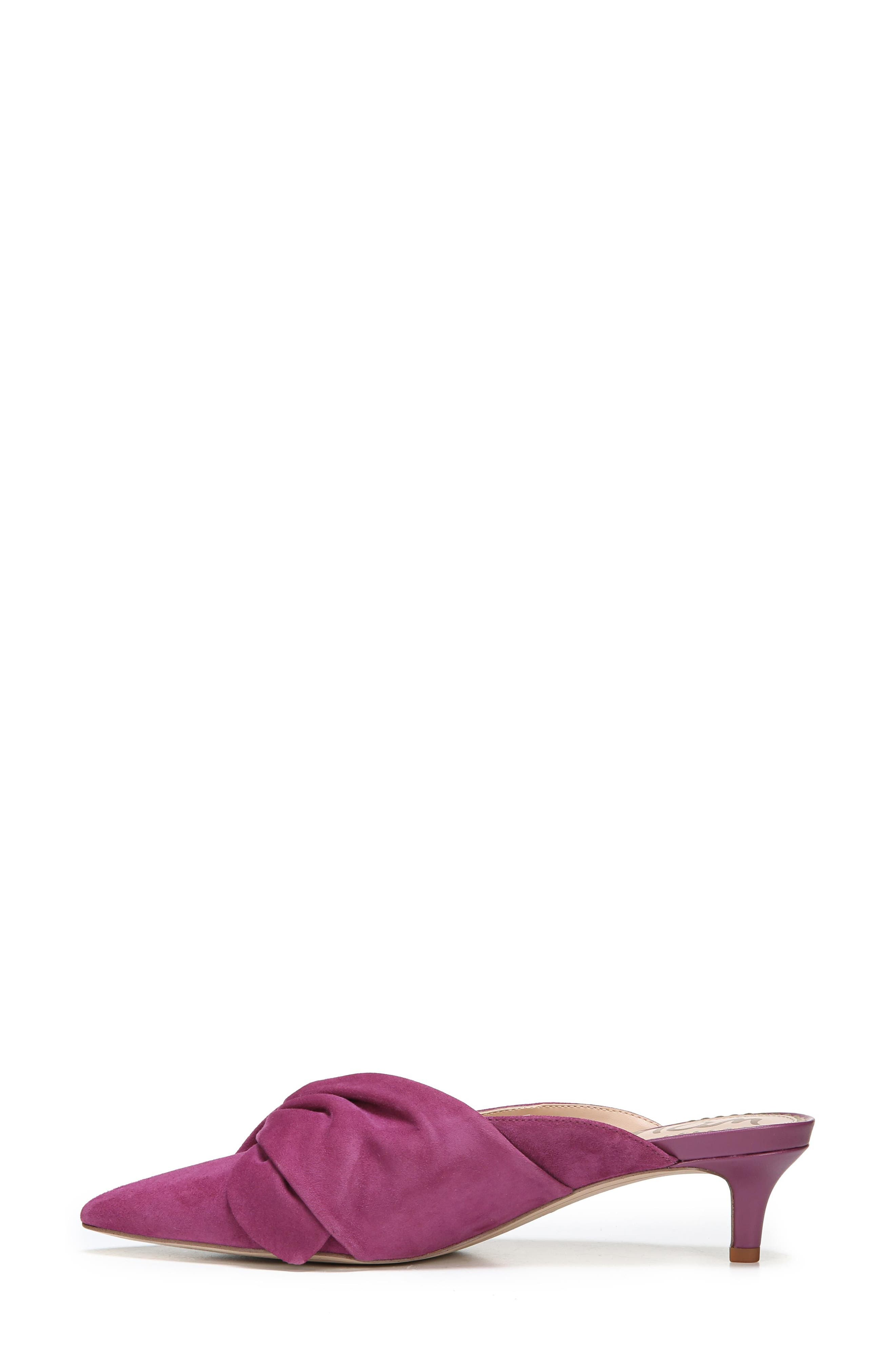 Laney Pointy Toe Mule,                             Alternate thumbnail 16, color,
