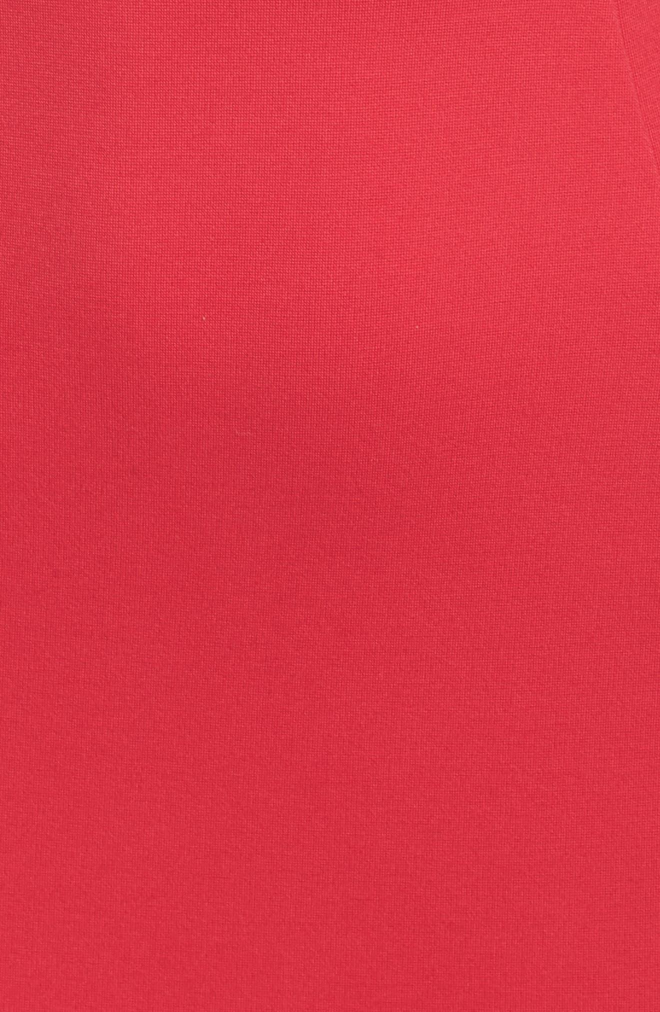 Lula Sheath Dress,                             Alternate thumbnail 6, color,                             WATERMELON