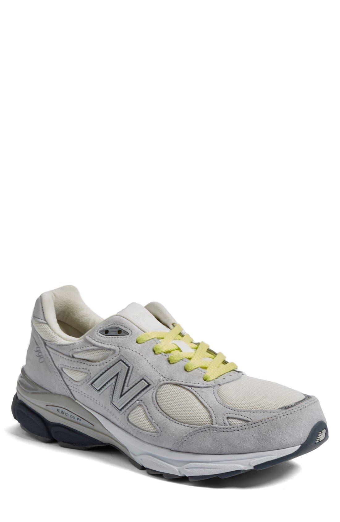 '990v3' Running Shoe,                             Alternate thumbnail 3, color,                             020