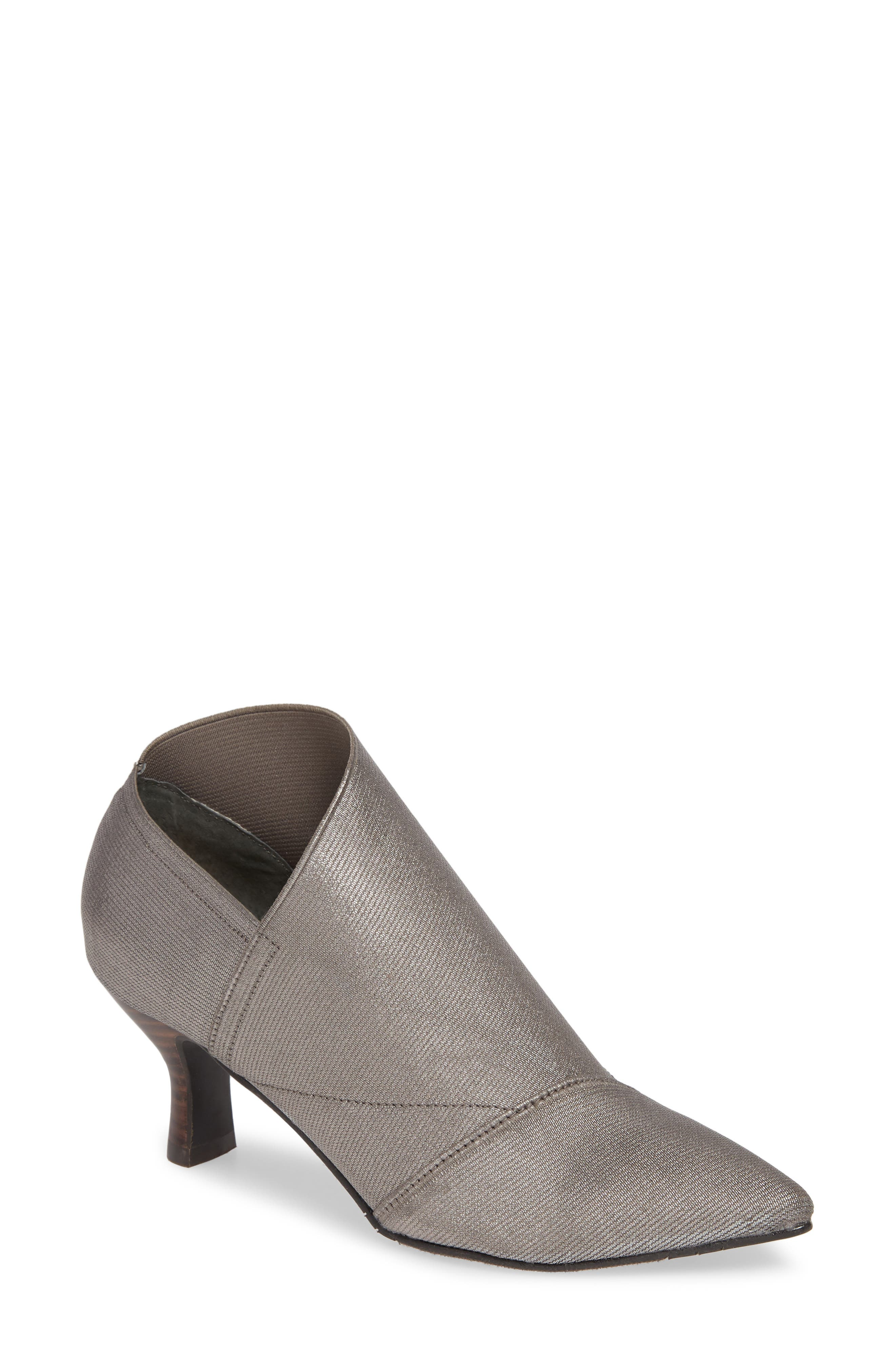 Adrianna Papell Hayes Pointy Toe Bootie- Grey