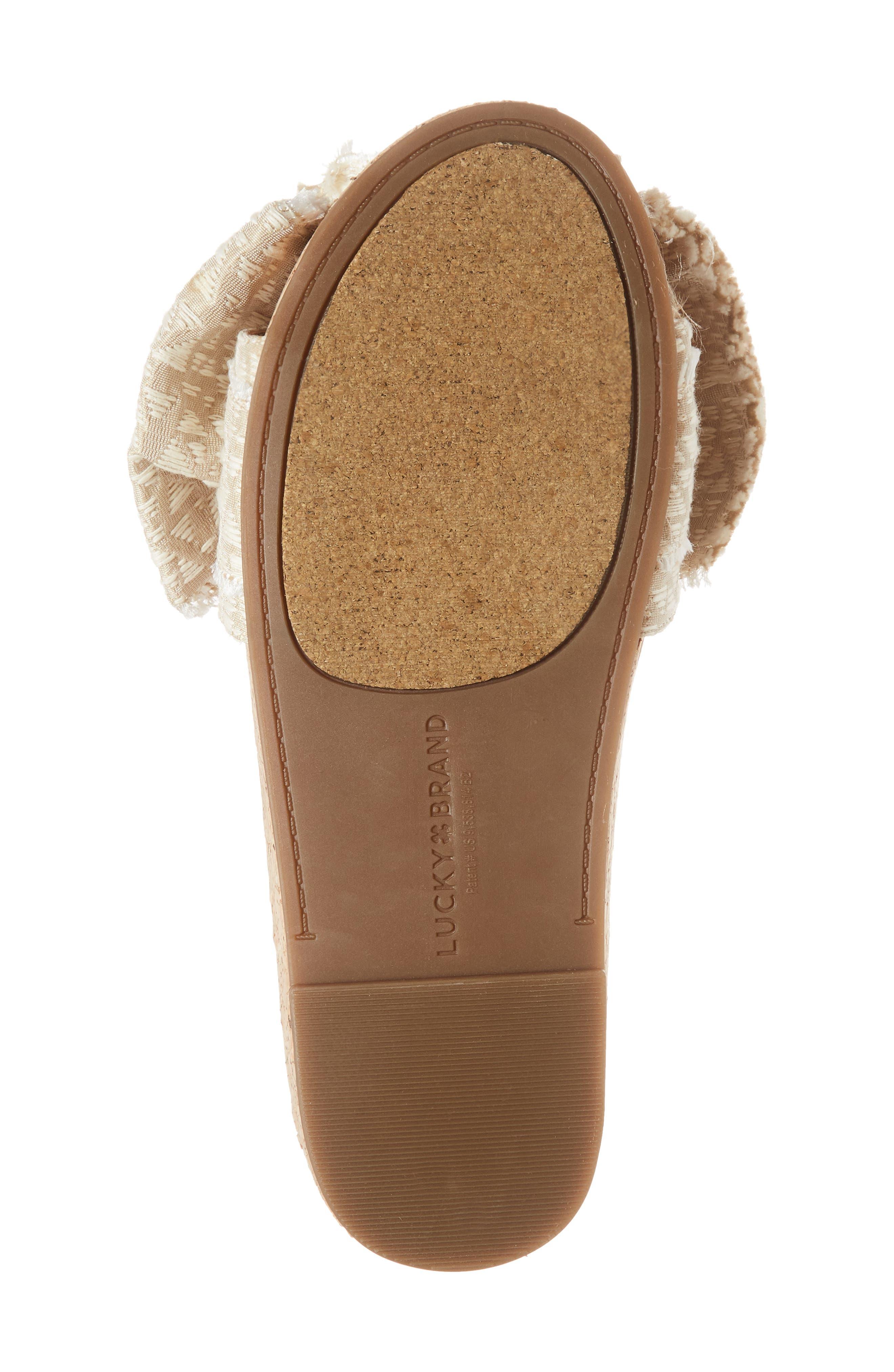 Floella Bow Slide Sandal,                             Alternate thumbnail 6, color,                             270